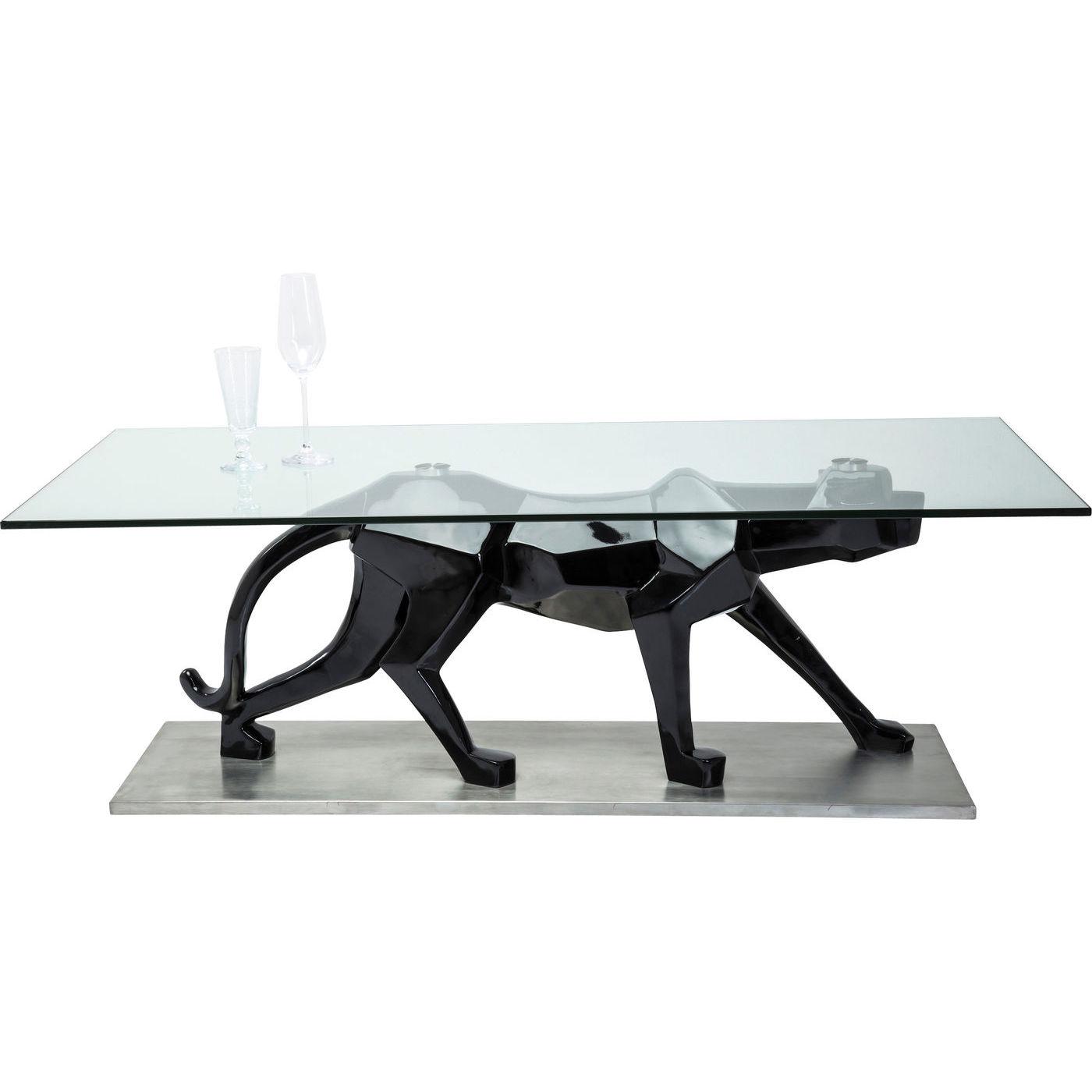 Billede af Kare Design Sofabord, Black Cat 140x70cm