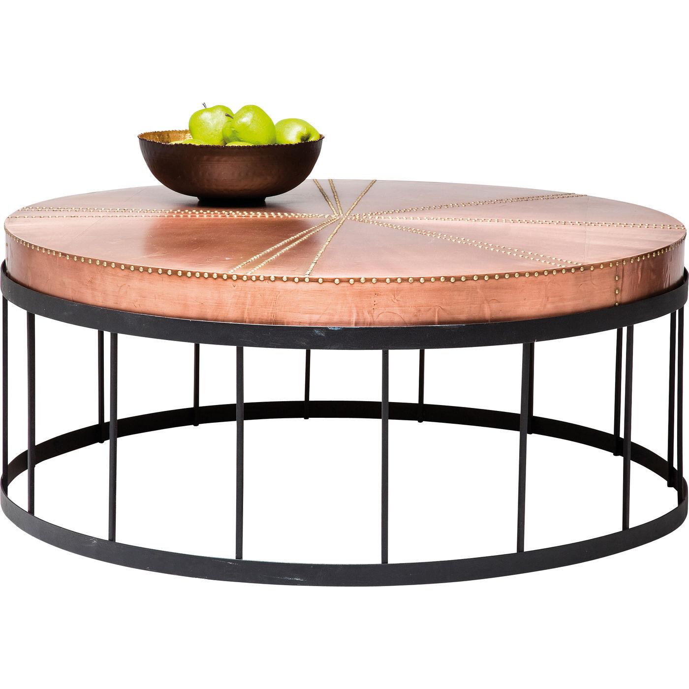Billede af Kare Design Sofabord, Rivet Copper