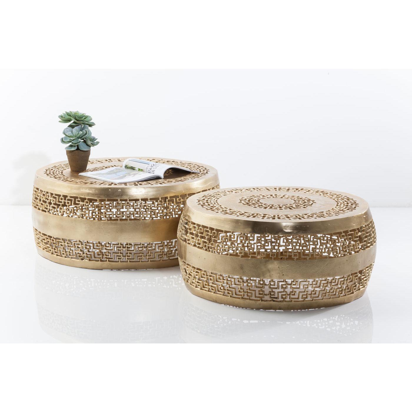 Billede af Kare Design Sofabord, Cleopatra Ornament Gold