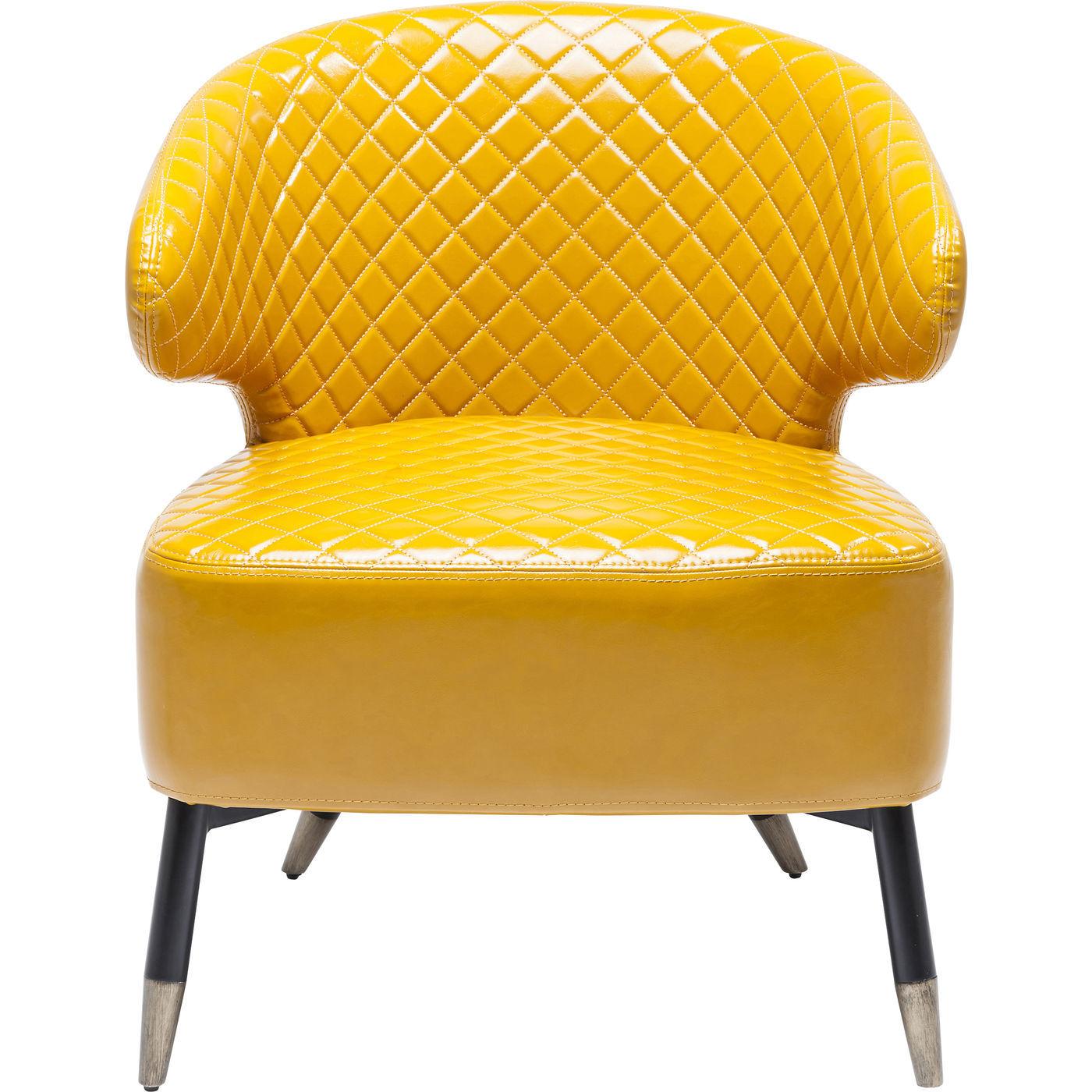 Billede af Kare Design Cocktail Spisebordsstol, Session Yellow