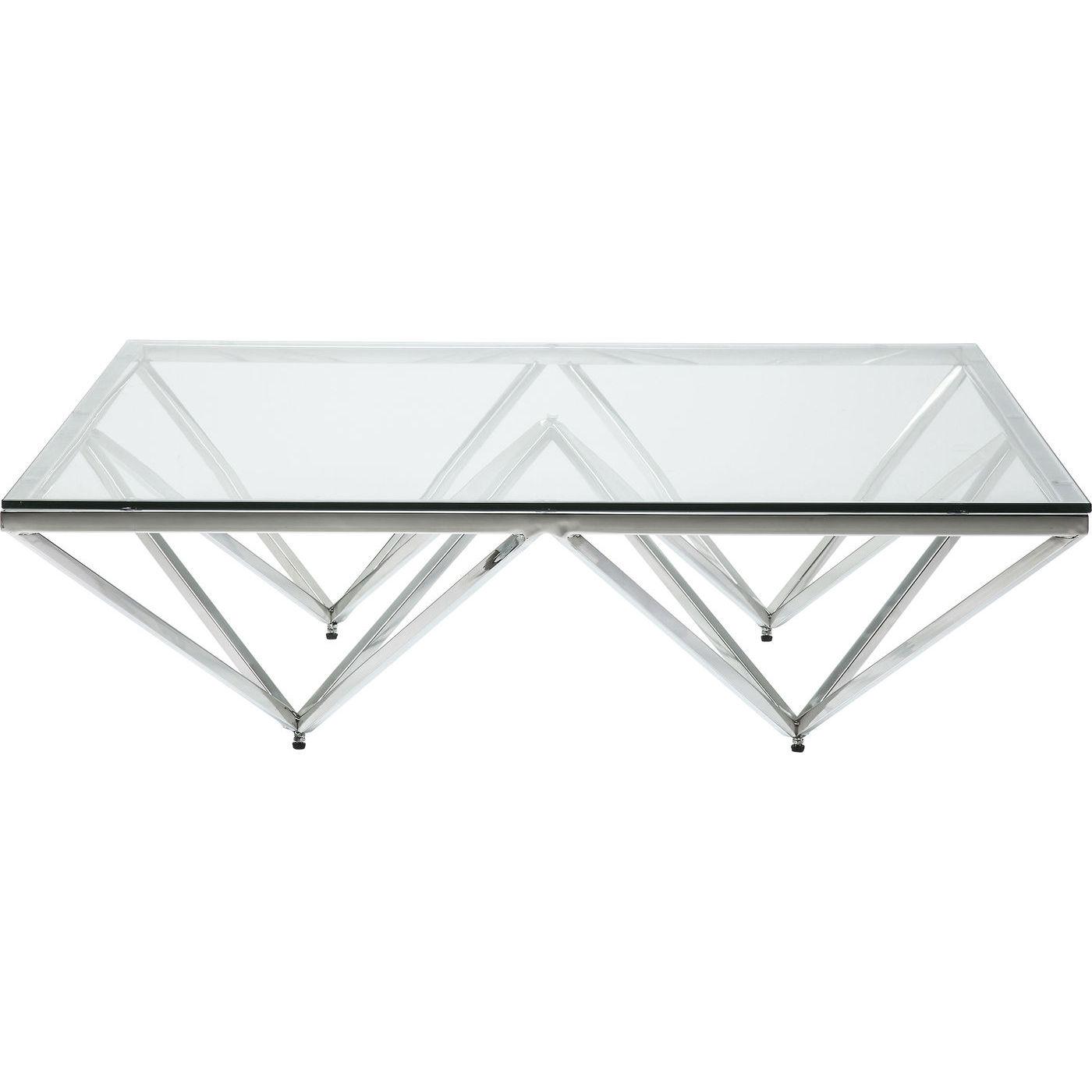 kare design Kare design network sofabord - glas og metal (105x105) på boboonline.dk