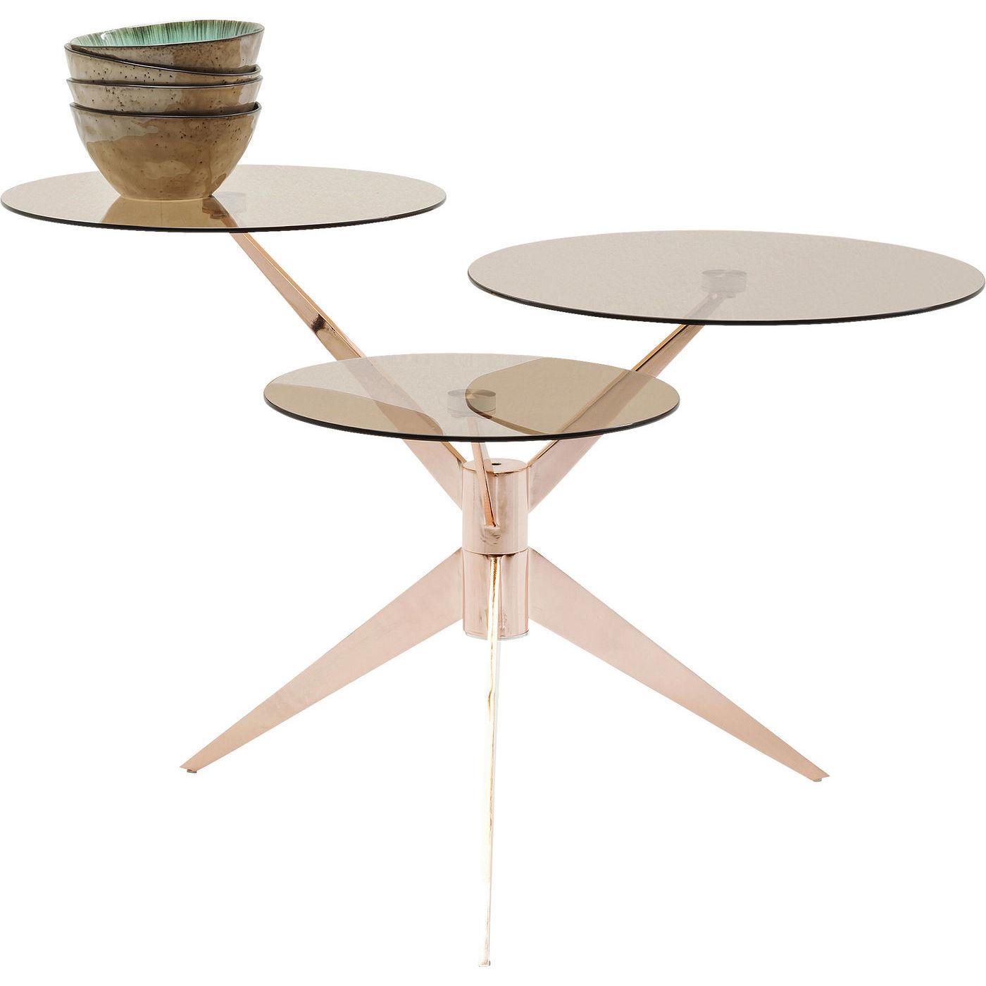Billede af Kare Design Sofabord, Bonsai Tre Rosegold
