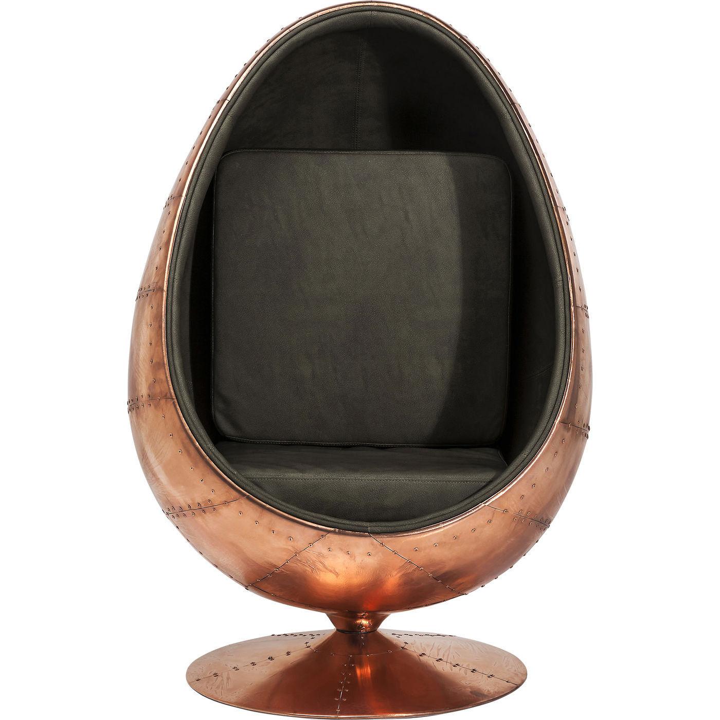 Billede af Kare Design Drejestol, Eye Ball Brass