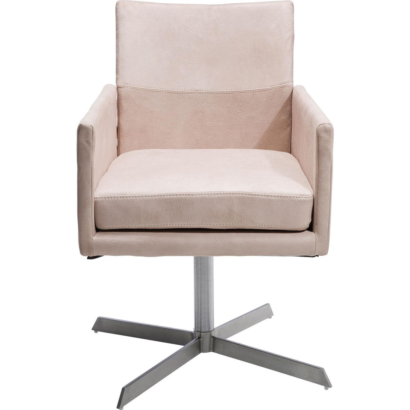 Billede af Kare Design Drejestol med Armlæn, Dialog Cream