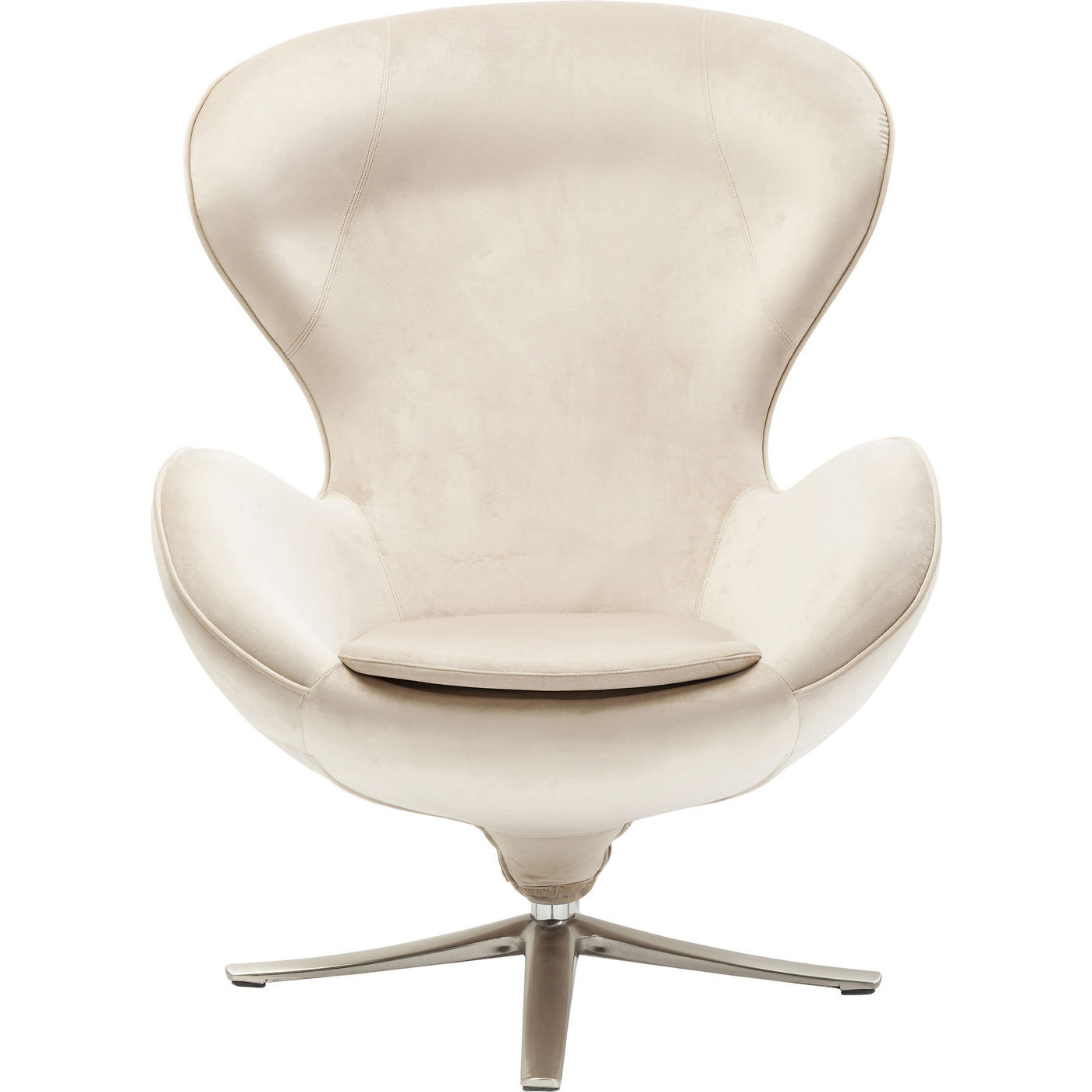 KARE DESIGN Drejestol, Lounge Surprise Beige