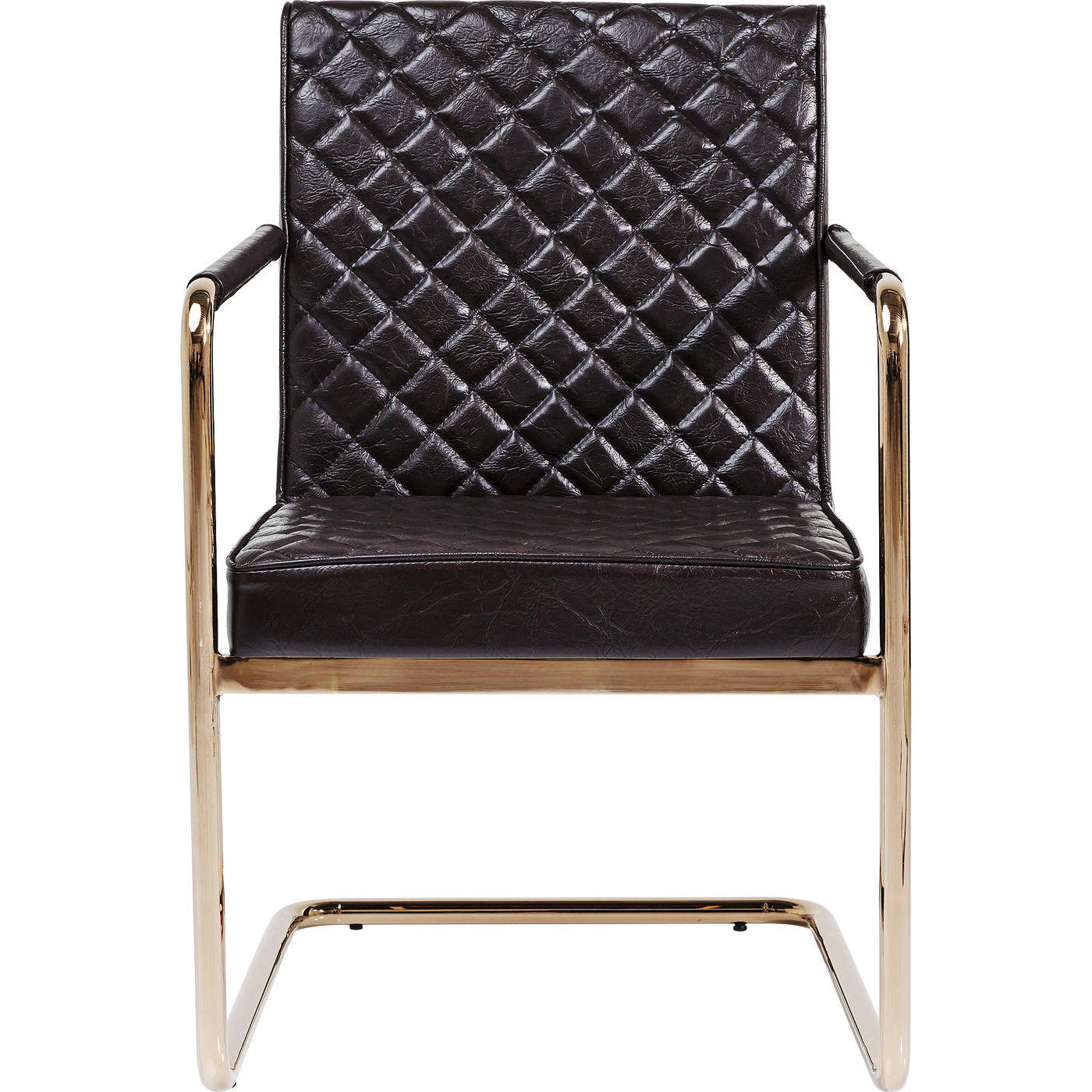Billede af Kare Design Cantilever Spisebordsstol med armlæn, Beverly