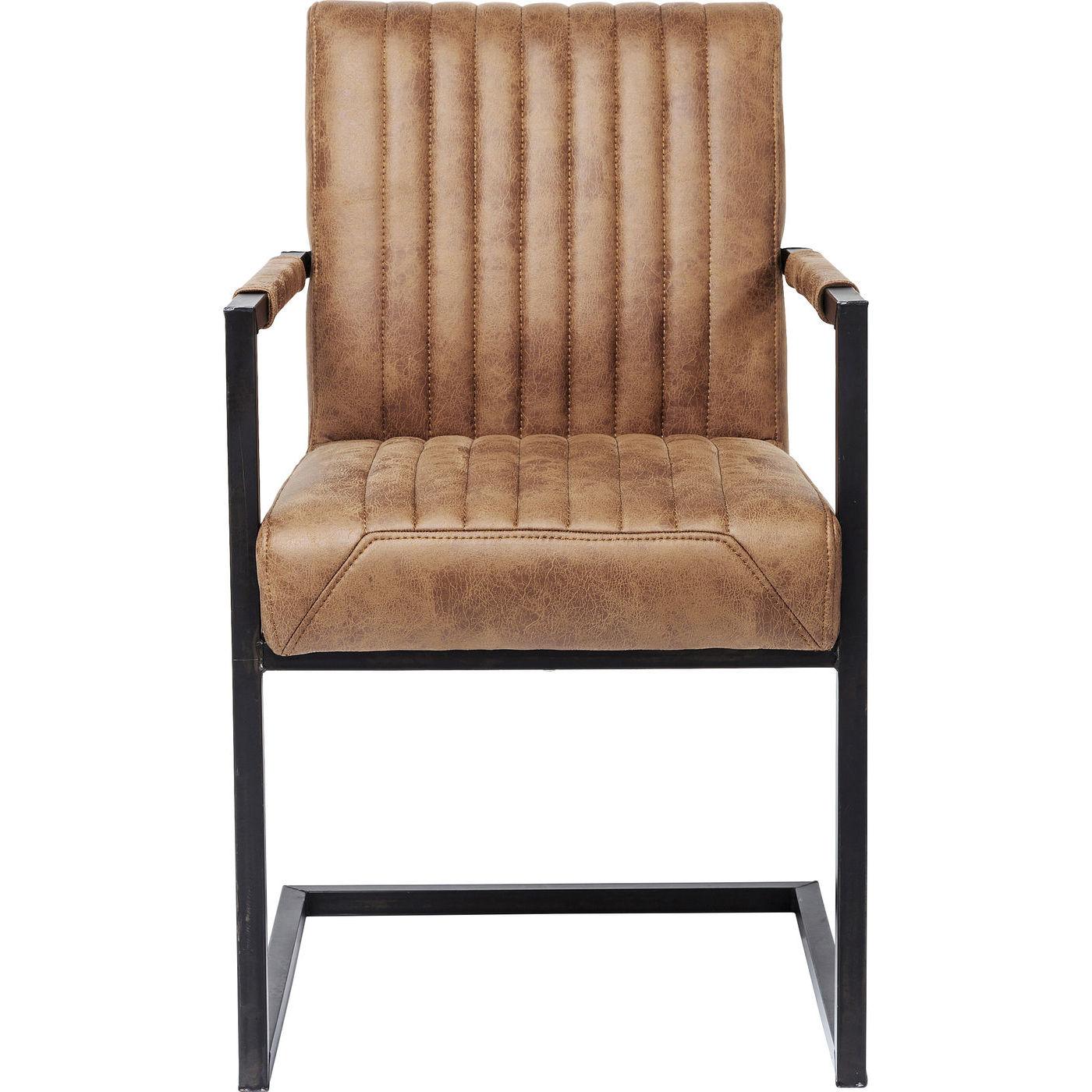Image of   KARE DESIGN Cantilever Spisebordsstol med armlæn, Liberty
