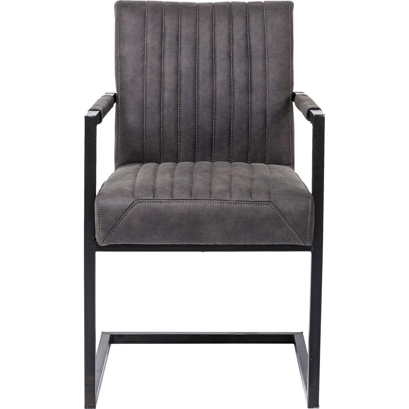 Billede af Kare Design Cantilever Spisebordsstol med armlæn, Liberty