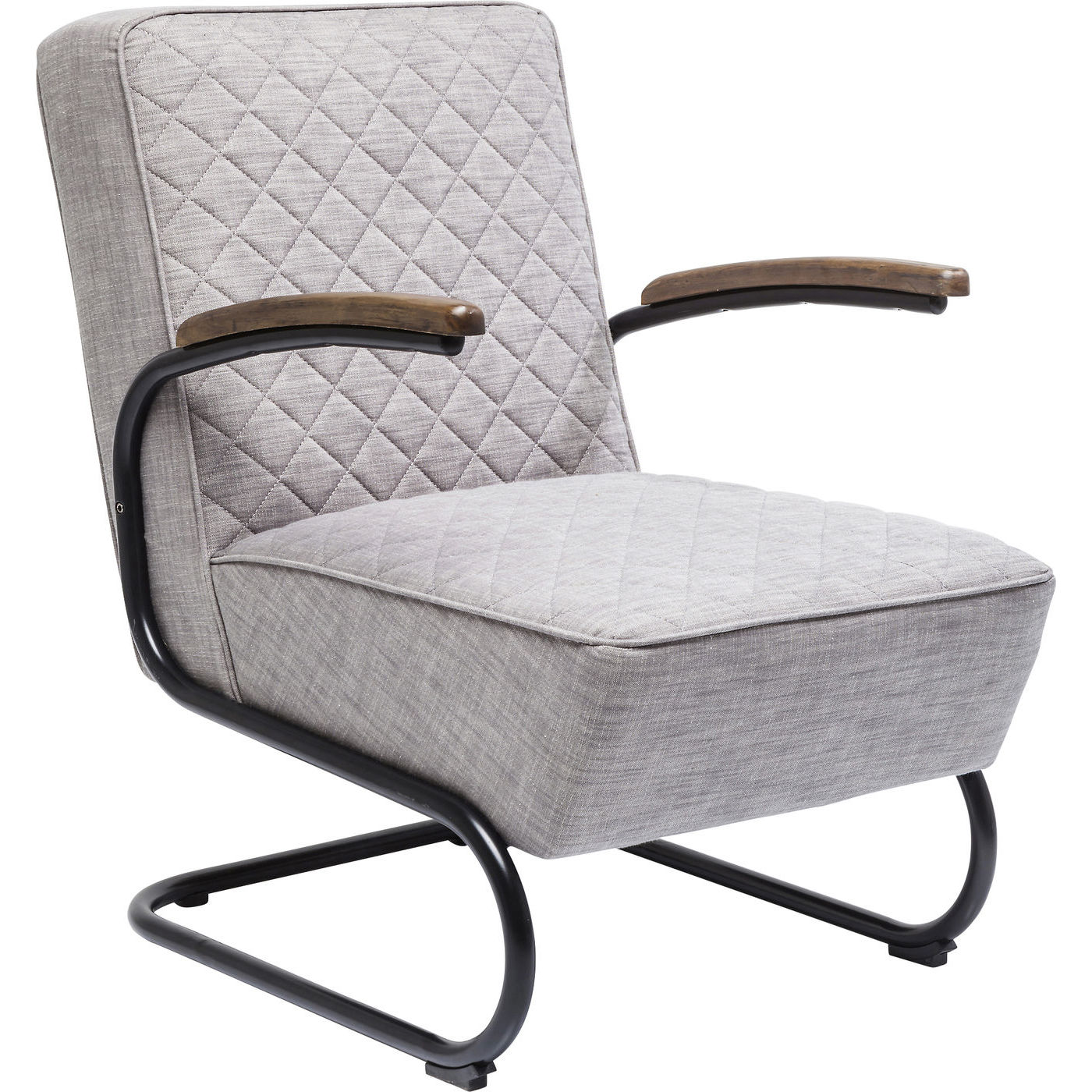 Image of   Kare Design Spisebordsstol med armlæn, Retro