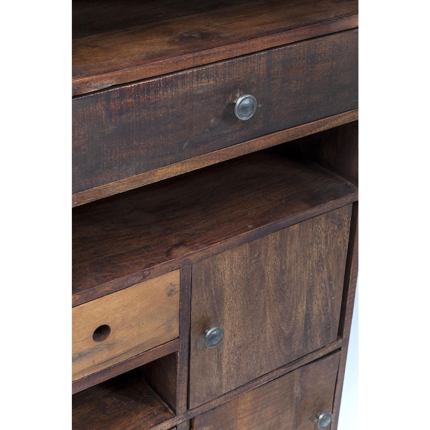 kommode texas med forskellige st rrelser skuffer og hylder. Black Bedroom Furniture Sets. Home Design Ideas