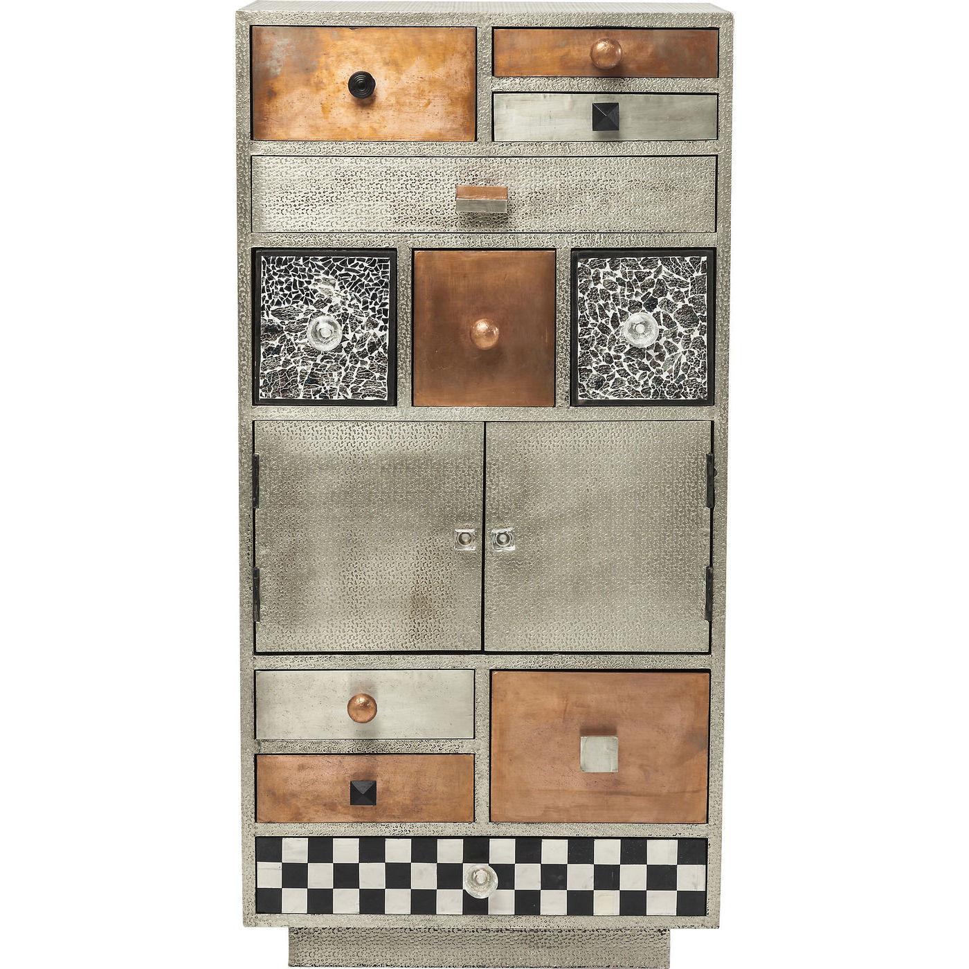 kommode marokko med mnstrede og mange skuffer cool. Black Bedroom Furniture Sets. Home Design Ideas
