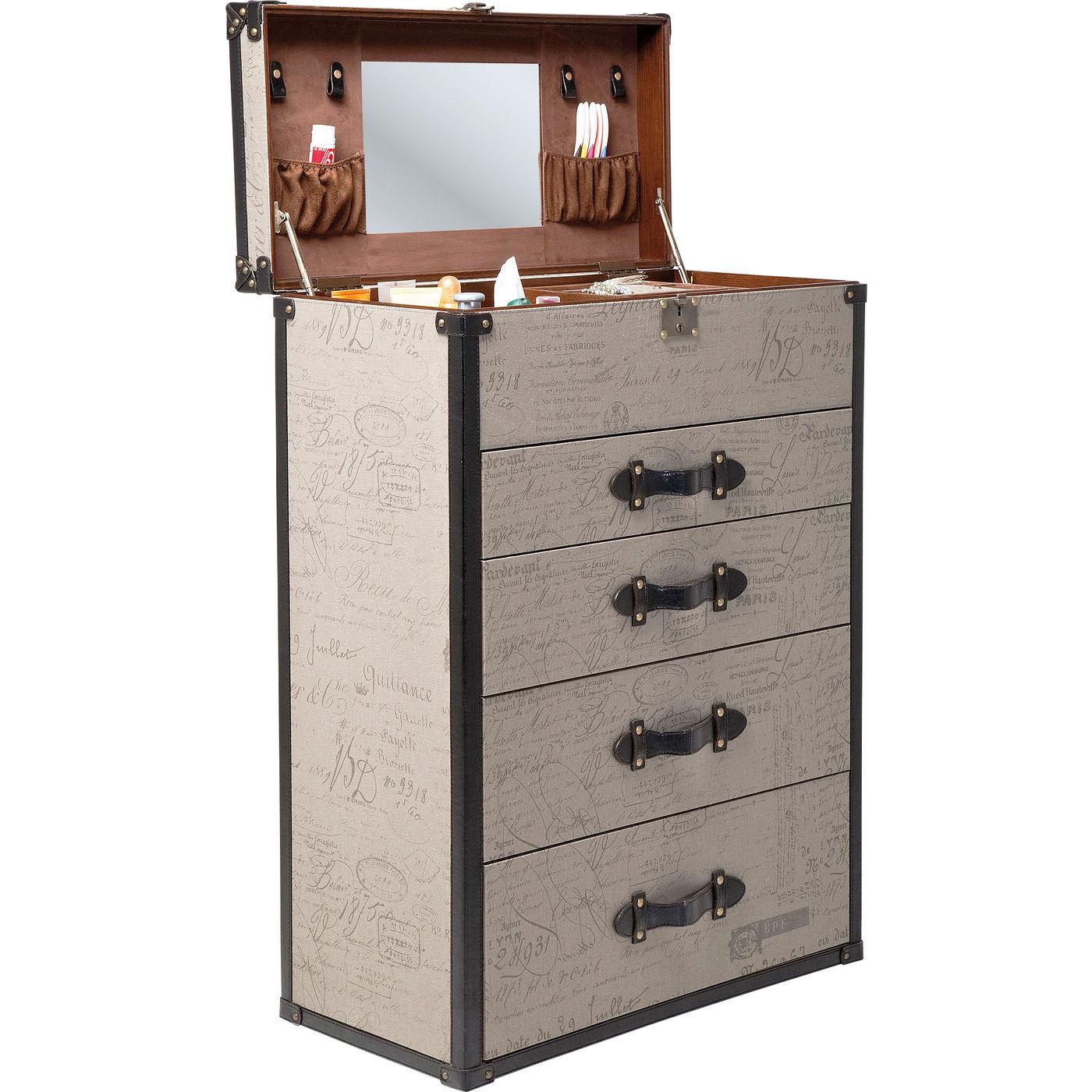 unik og praktisk vintage makeup kommode fra kare design. Black Bedroom Furniture Sets. Home Design Ideas