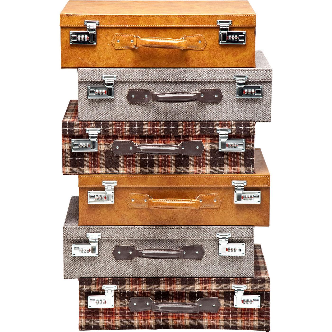 Billede af Kare Design Kommode, Suitcase Highlands