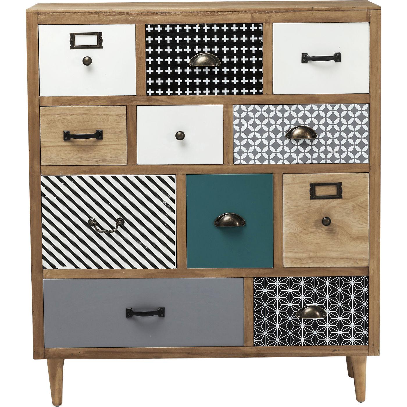 farverig kommode fra tyske kare design se den her. Black Bedroom Furniture Sets. Home Design Ideas