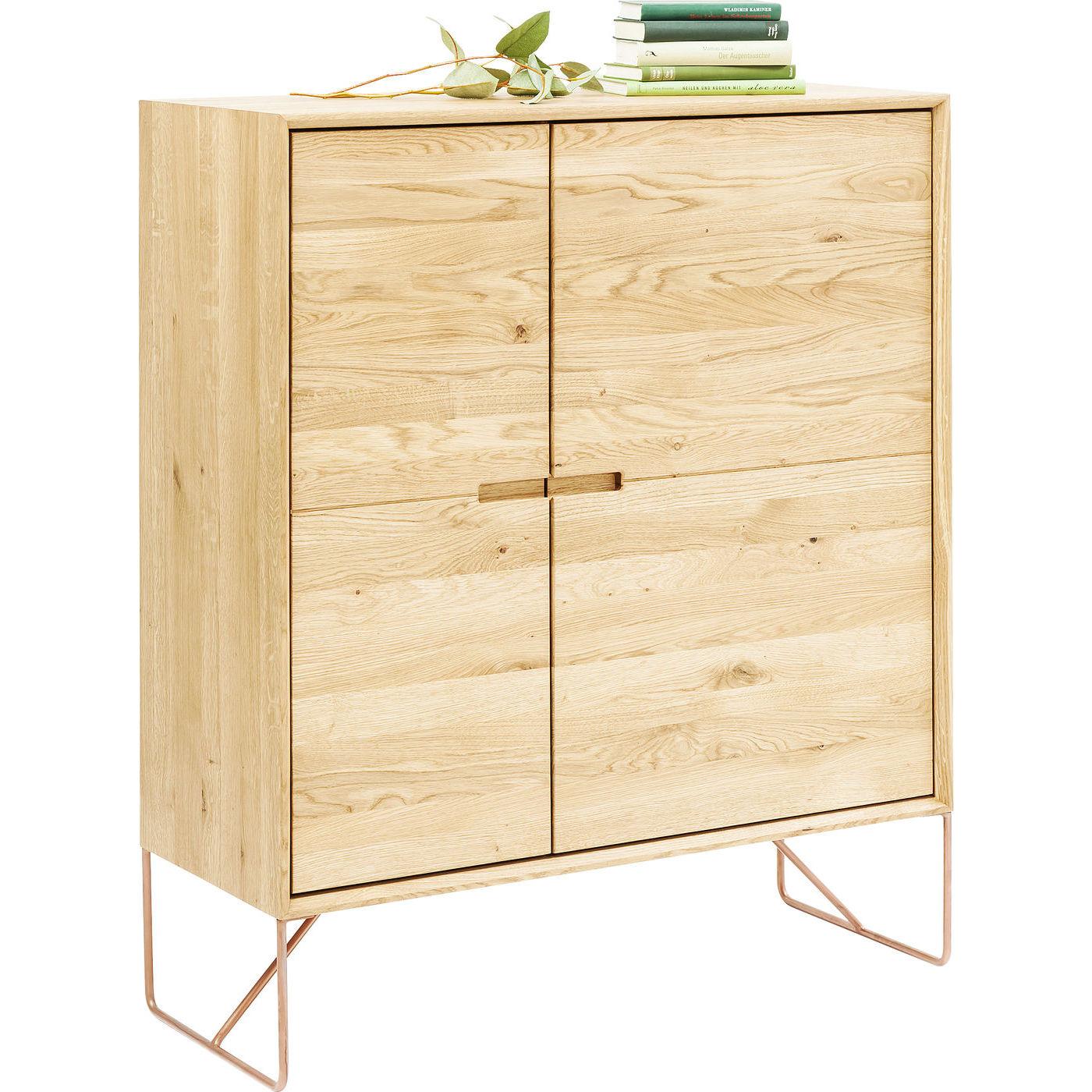 kommode modern line i egetr slanke ben og fine lger. Black Bedroom Furniture Sets. Home Design Ideas