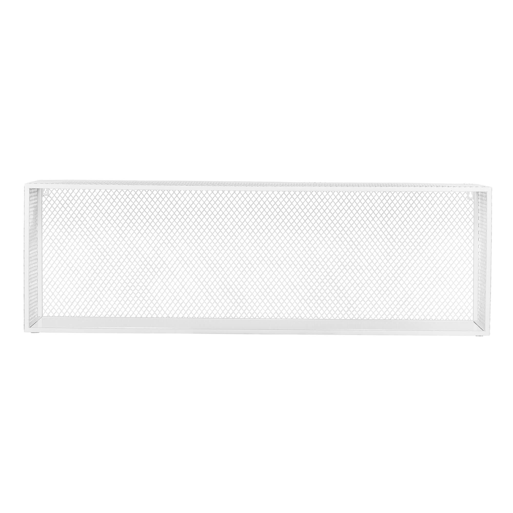 bloomingville – Bloomingville caido display kasse til ophæng - hvid/metal og mdf på boboonline.dk