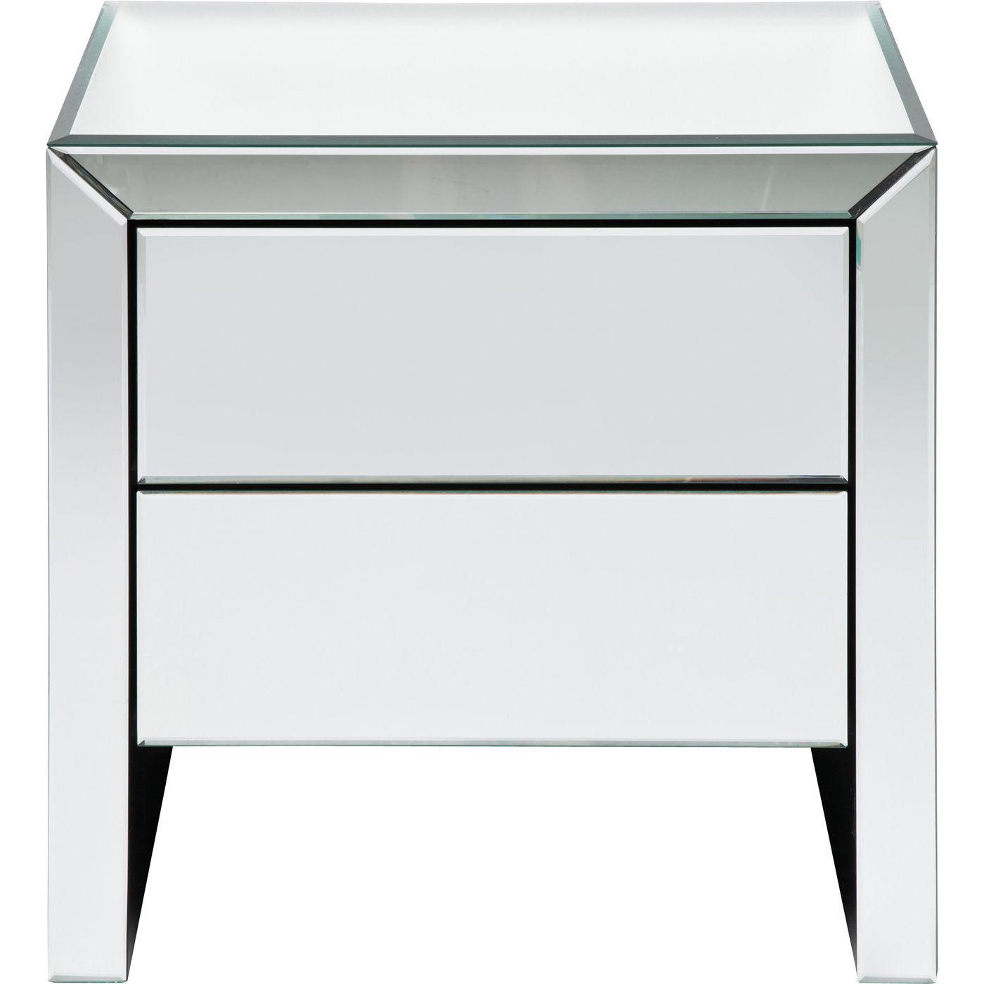 kommode real dream med spejlglas elegance og stil cool. Black Bedroom Furniture Sets. Home Design Ideas