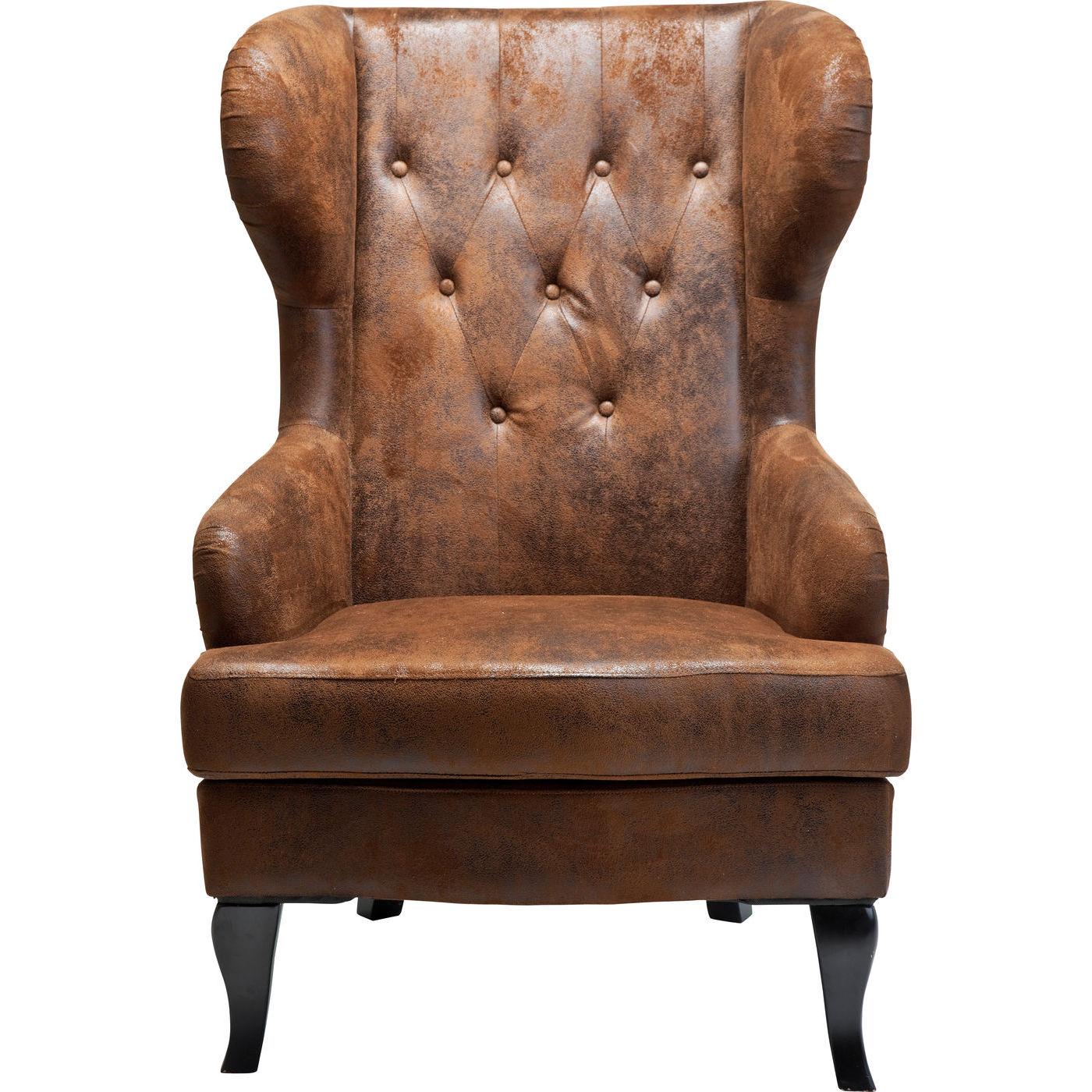 kare design Kare design vintage hvilestol - brunt kunstlæder, m. armlæn på boboonline.dk