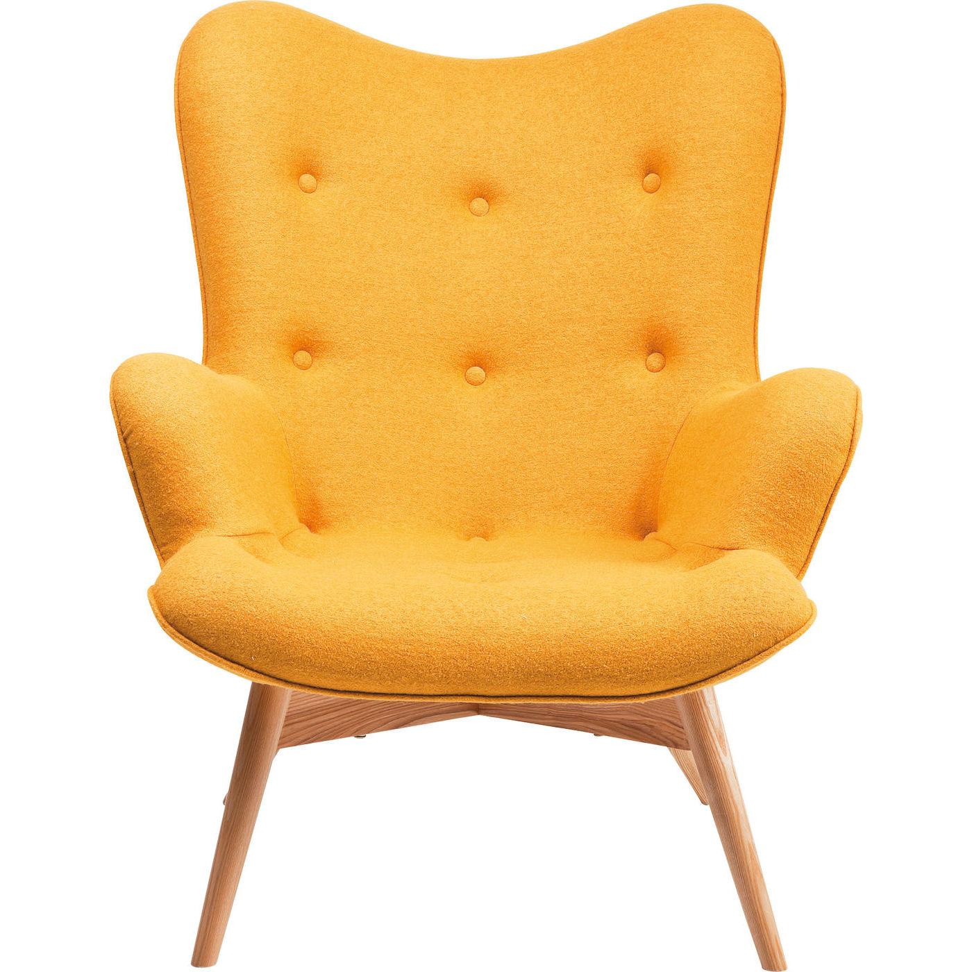 Billede af Kare Design Hvilestol m. Armlæn, Angels s Yellow New Desi