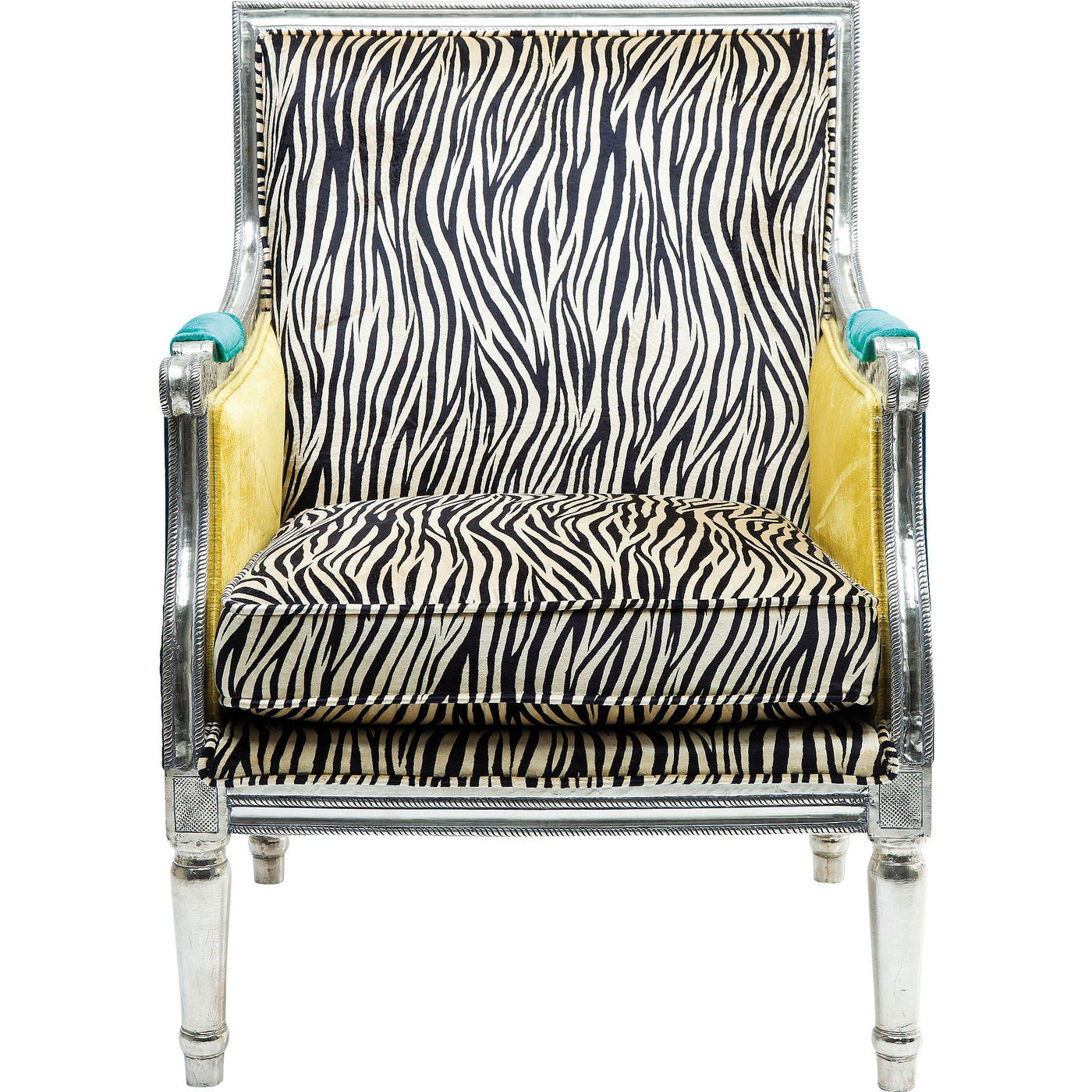 Billede af Kare Design Hvilestol m. Armlæn, Regency Zebra