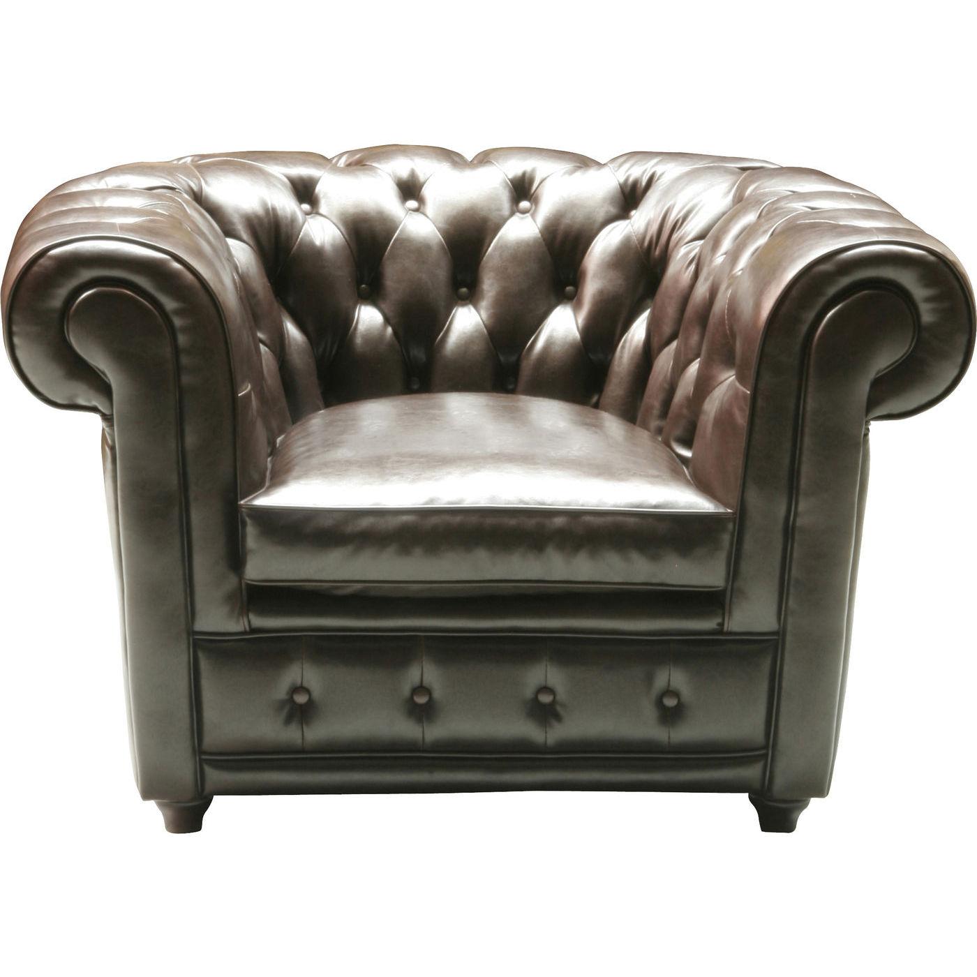Billede af Kare Design Hvilestol m. Armlæn, Oxford bycast leather