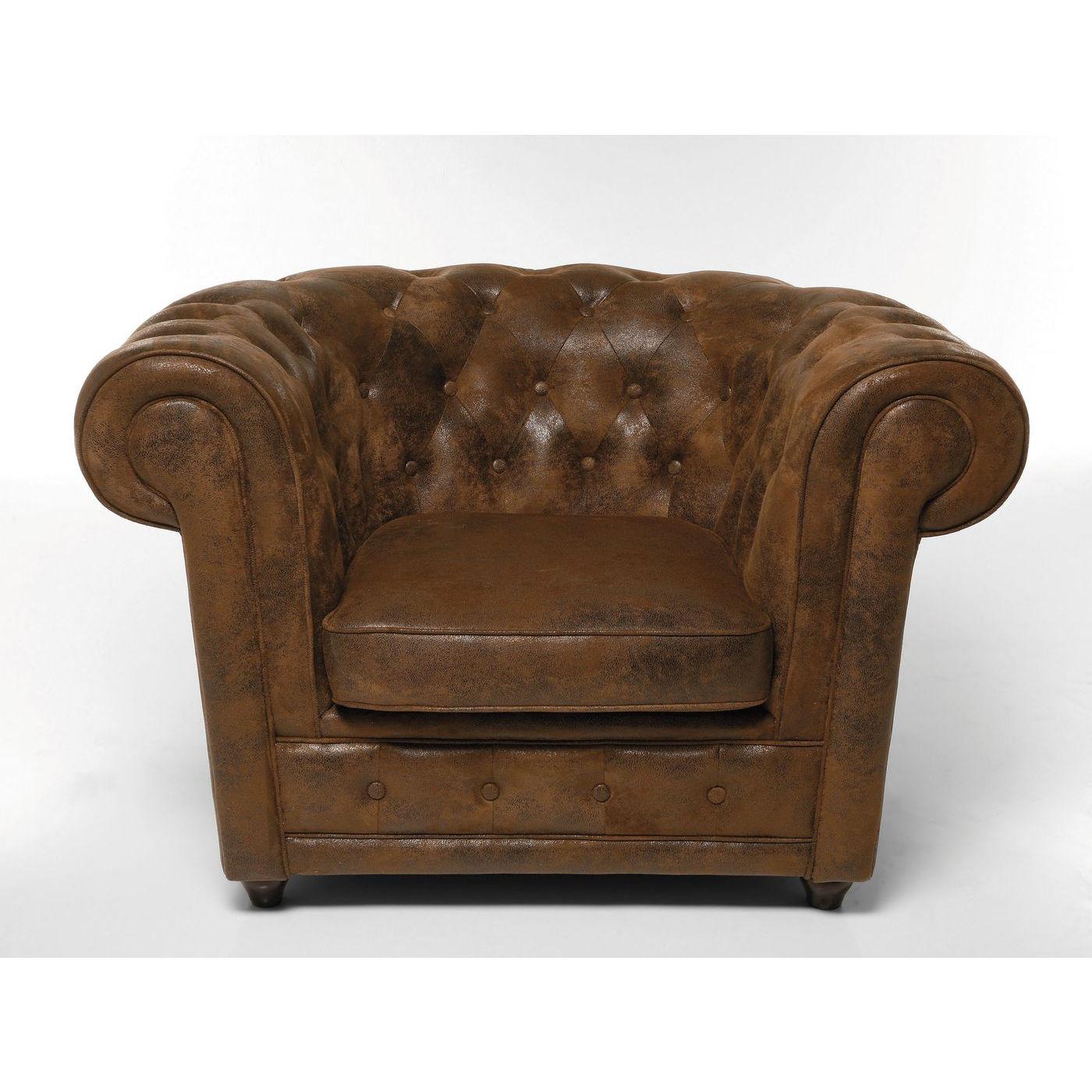 Billede af Kare Design Hvilestol m. Armlæn, Oxford Vintage Eco
