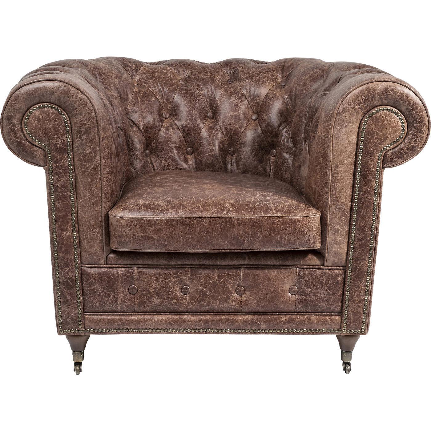 Billede af Kare Design Hvilestol m. Armlæn, Oxford Vintage Deluxe