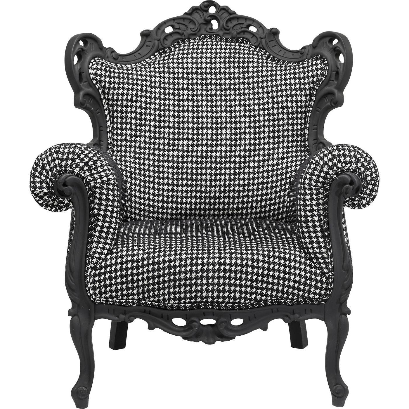 Billede af Kare Design Hvilestol m. Armlæn, Posh Rubber Pepita