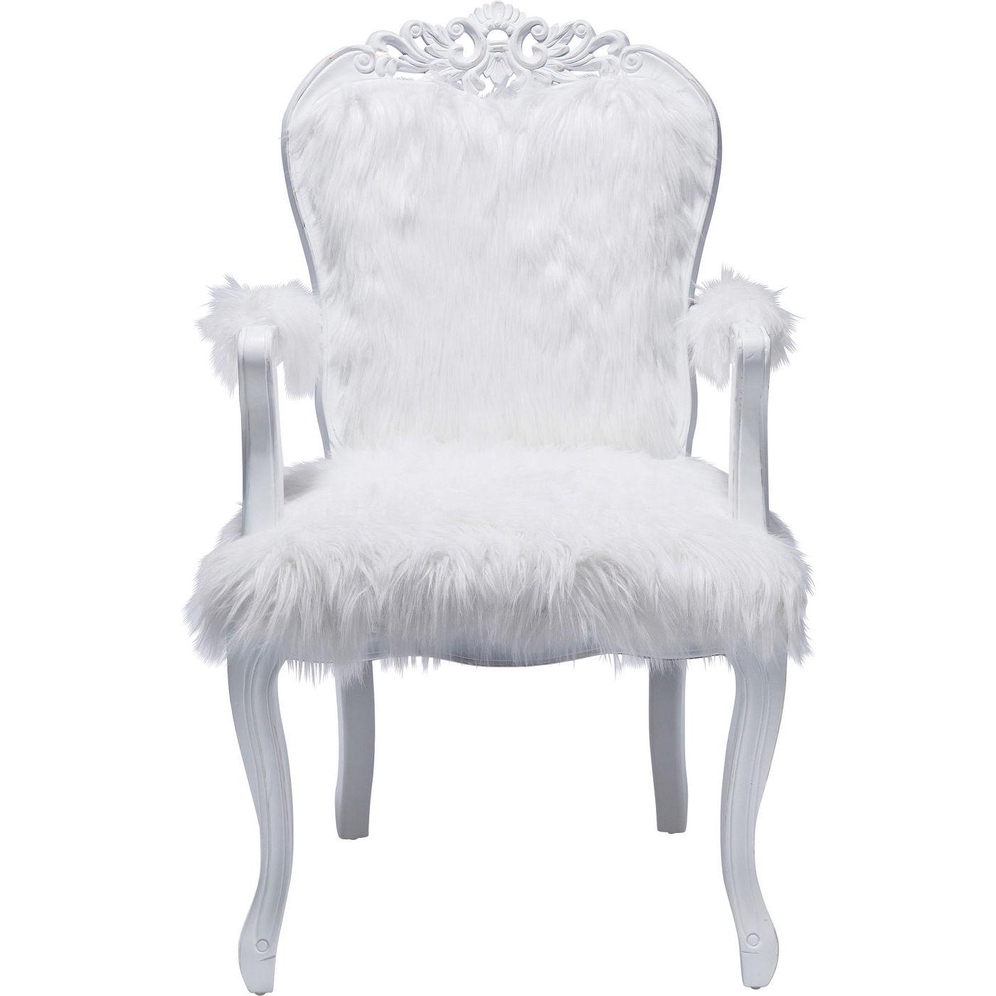 Billede af Kare Design Hvilestol m. Armlæn, Romantico Fur