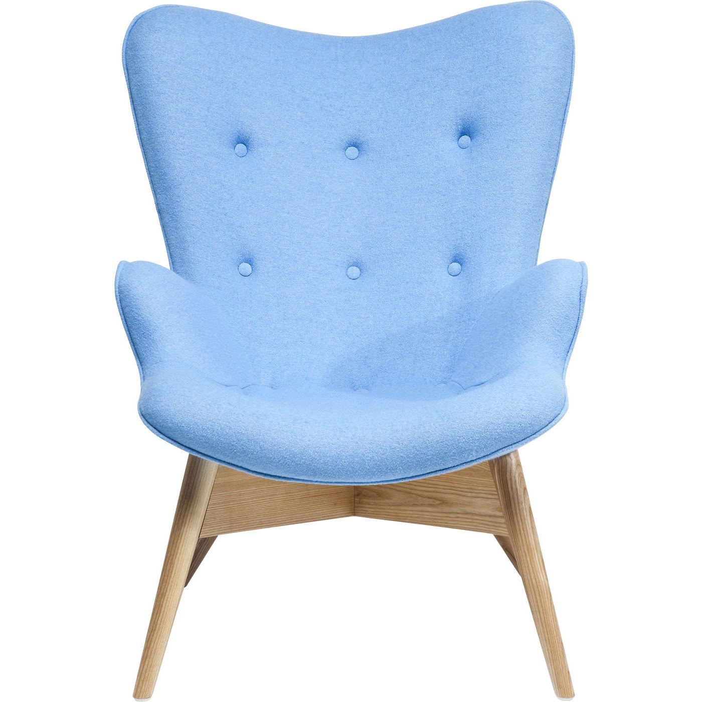 Billede af Kare Design Hvilestol m. Armlæn, Angels s Blue Eco