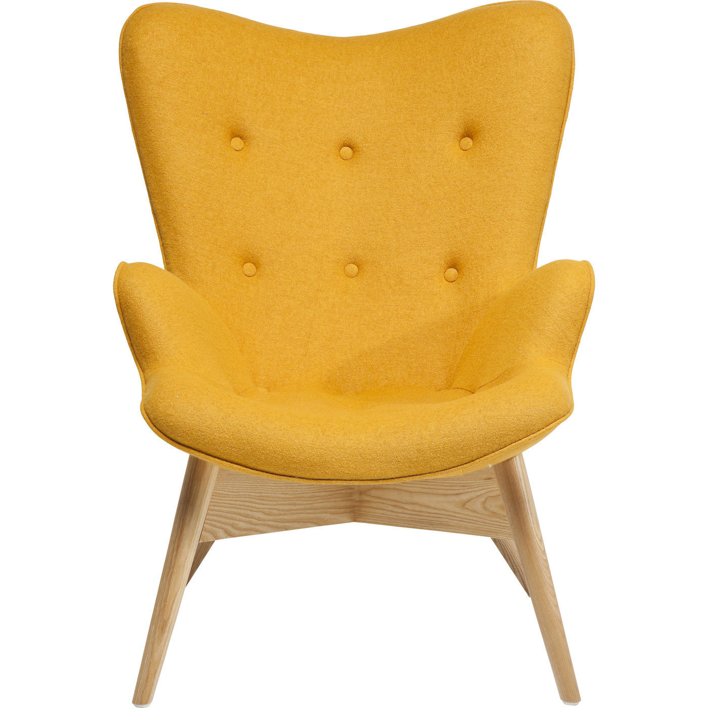 KARE DESIGN Hvilestol m. Armlæn, Angels s Yellow Eco