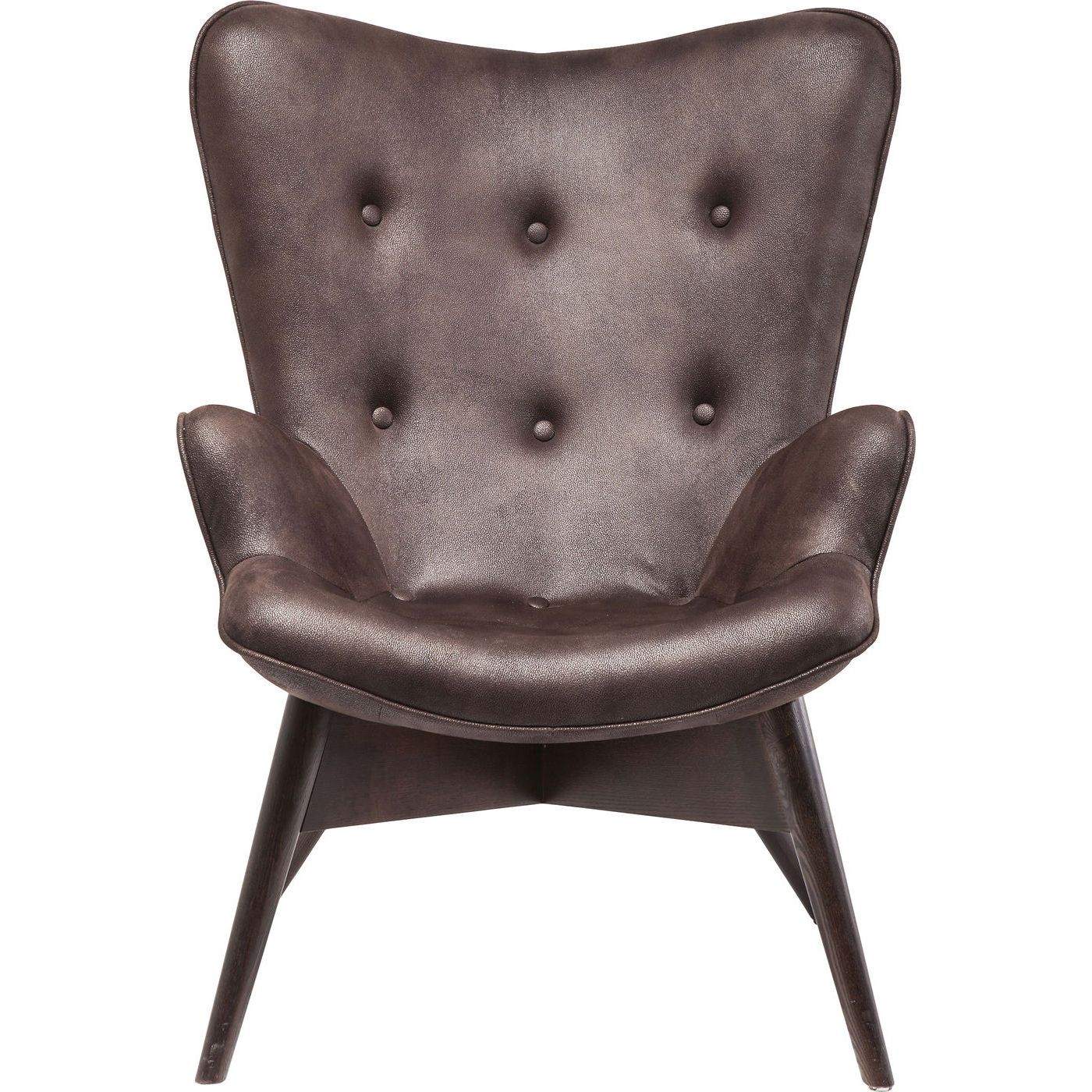 Image of   KARE DESIGN Hvilestol m. Armlæn, Angels s Dark Brown Eco