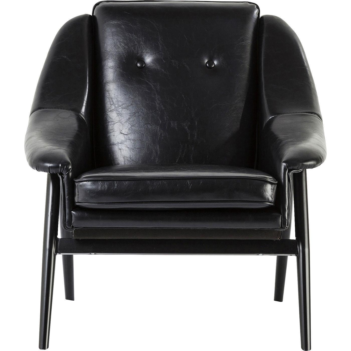 Billede af Kare Design Hvilestol m. Armlæn, Queens Black