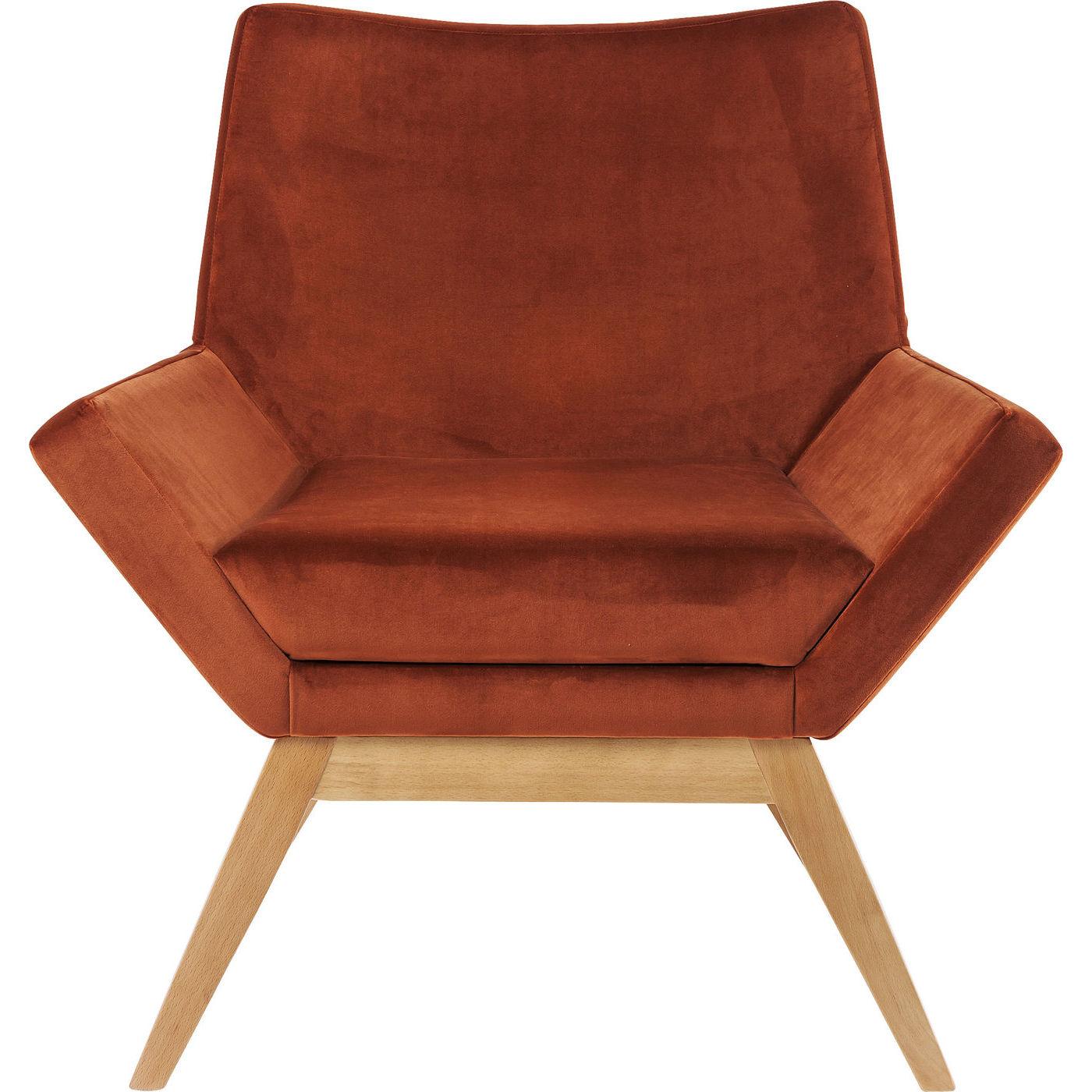 Billede af Kare Design Hvilestol m. Armlæn, Pixie Orange