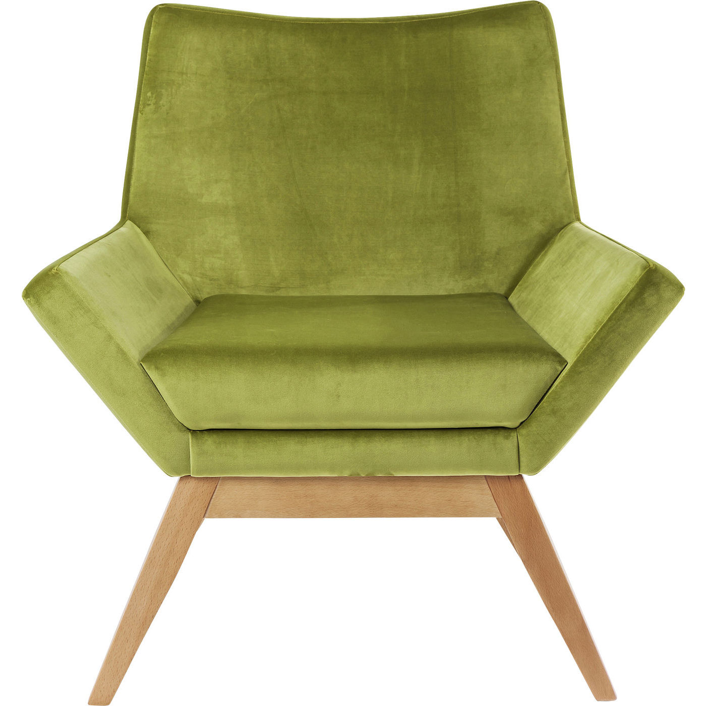 Billede af Kare Design Hvilestol m. Armlæn, Pixie Green