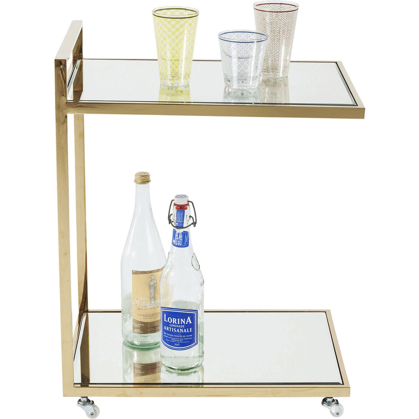 Billede af Kare Design Bakkebord, Classy Gold