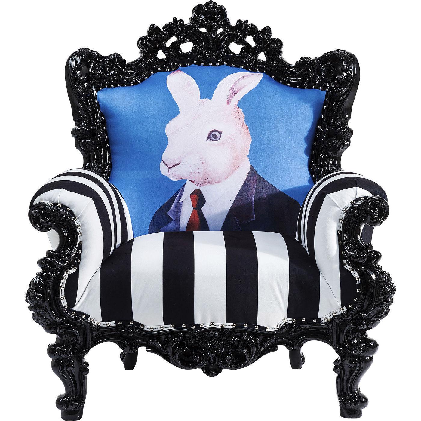 Billede af Kare Design Hvilestol m. Armlæn, Mink Mr. Rabbit