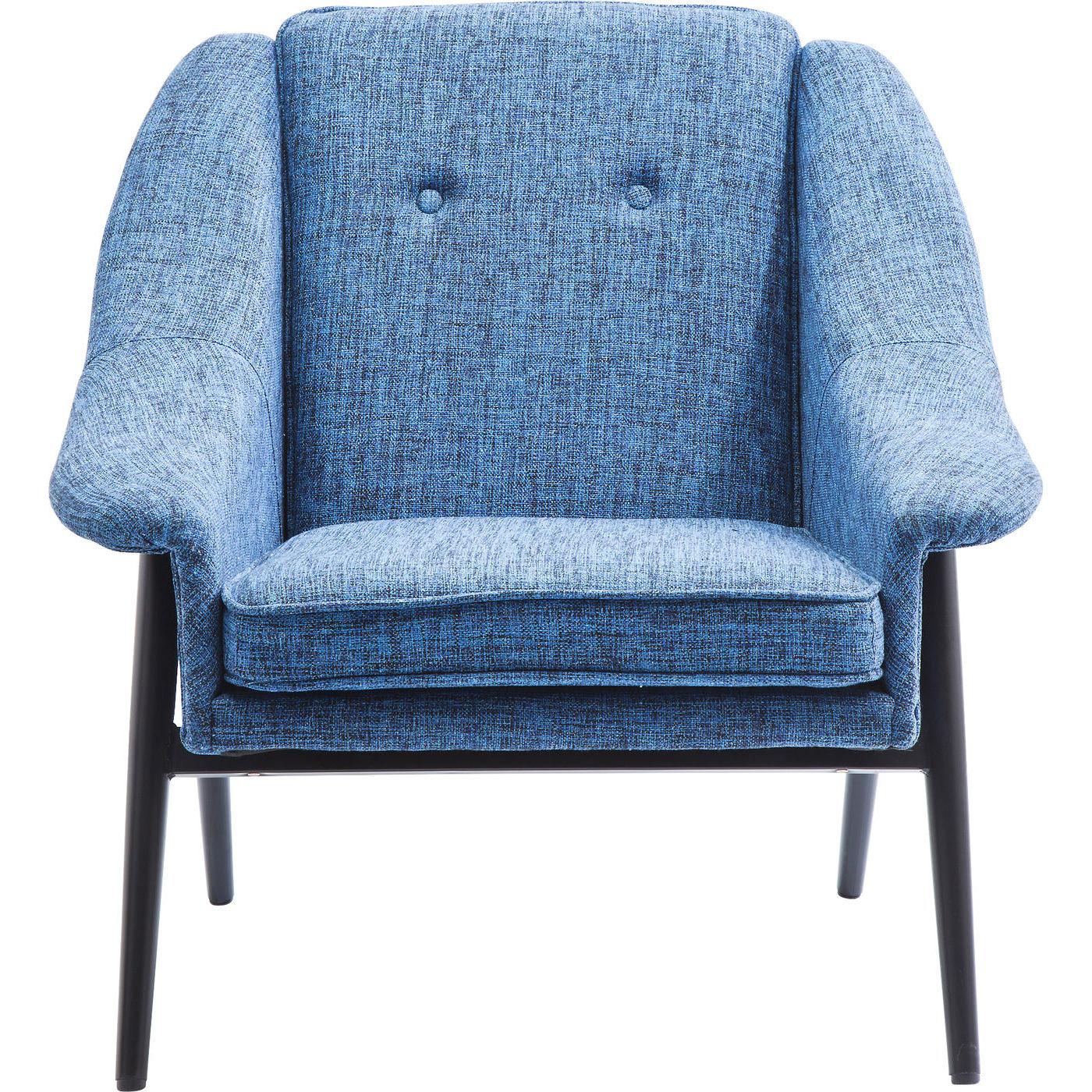 Billede af Kare Design Hvilestol m. Armlæn, Queens Cosy Blue
