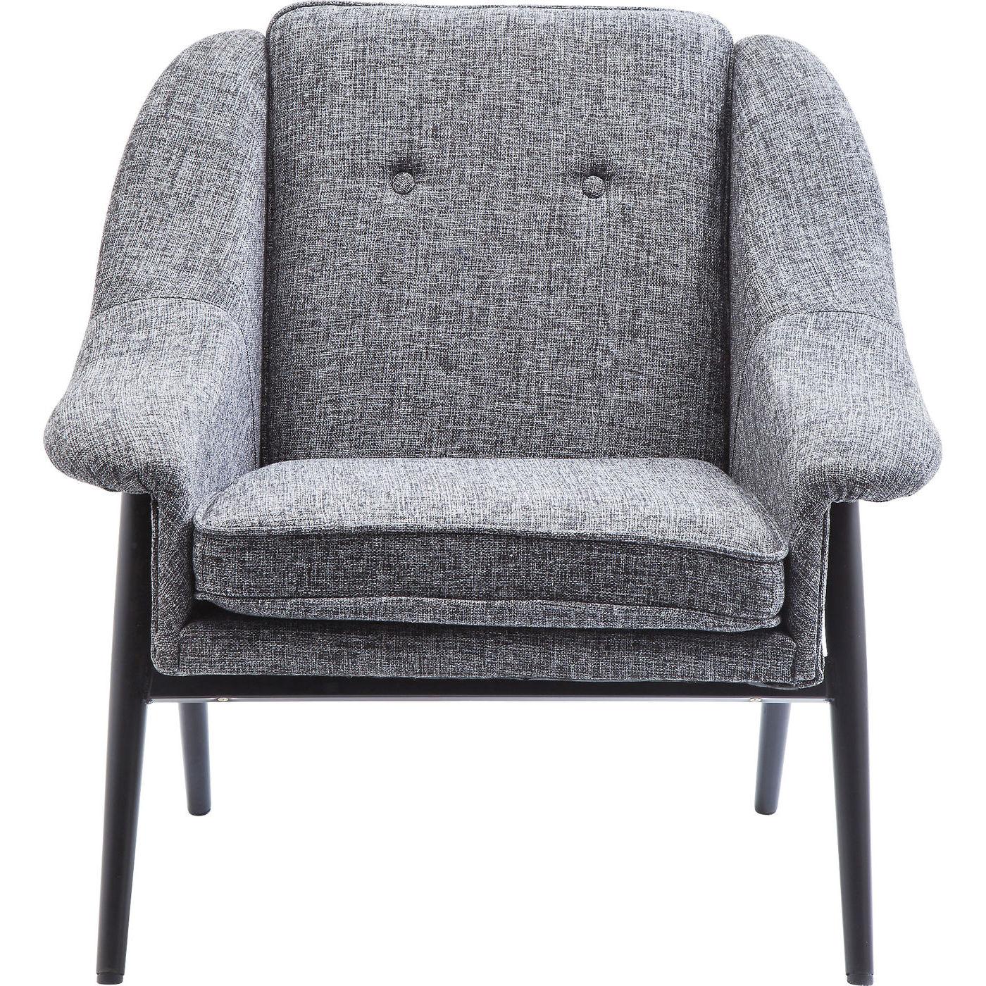 Billede af Kare Design Hvilestol m. Armlæn, Queens Cosy Grey