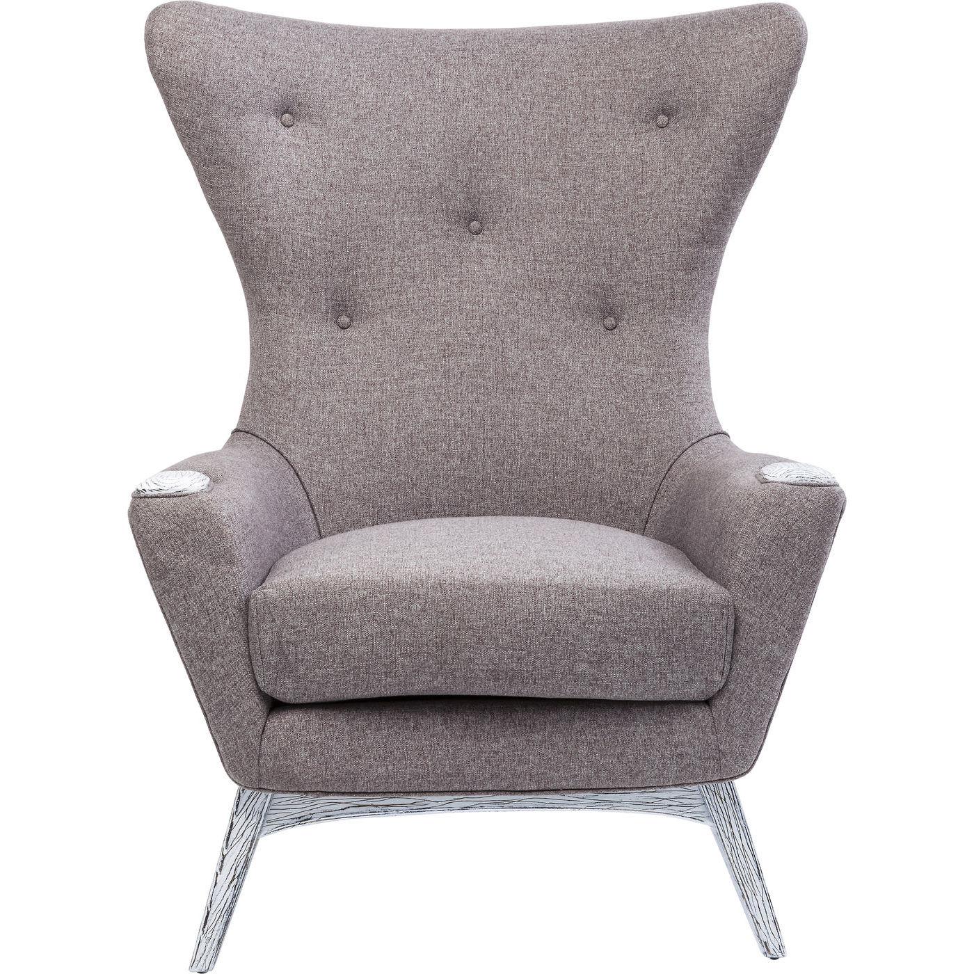 Billede af Kare Design Hvilestol m. Armlæn, Chillax Grey