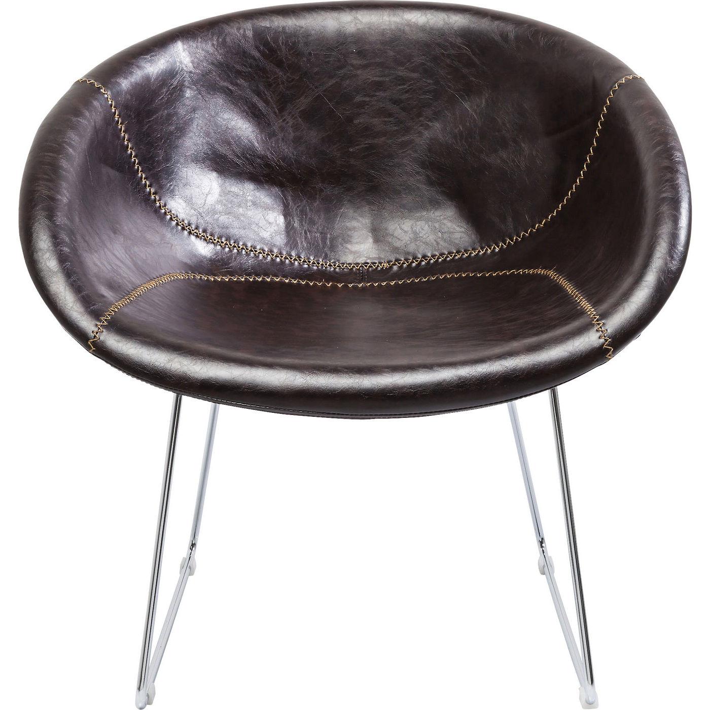 Billede af Kare Design Hvilestol m. Armlæn, Lounge Brown