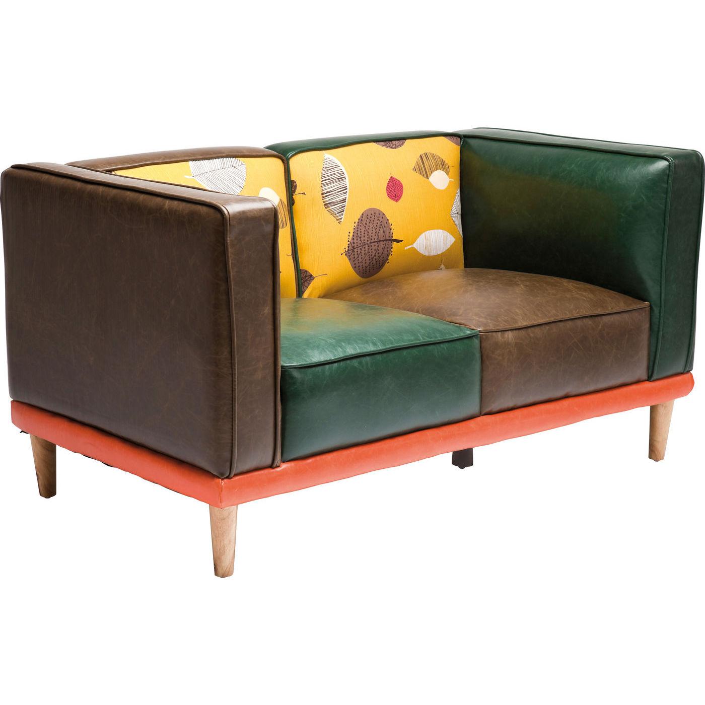 sofa leaf 2 pers virkelig speciel og farverig anderledes. Black Bedroom Furniture Sets. Home Design Ideas