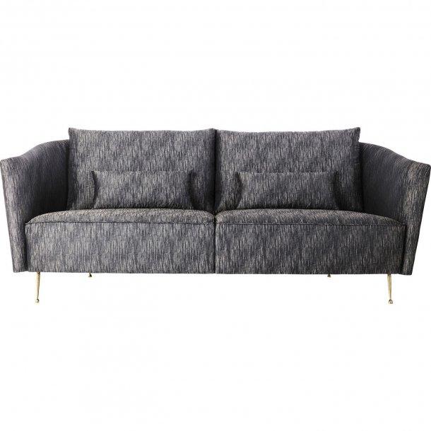 vegas forever 3 pers sofa med flot meleret stof speciel. Black Bedroom Furniture Sets. Home Design Ideas