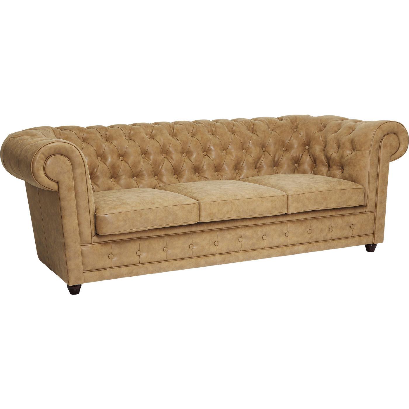 læderlook sofa