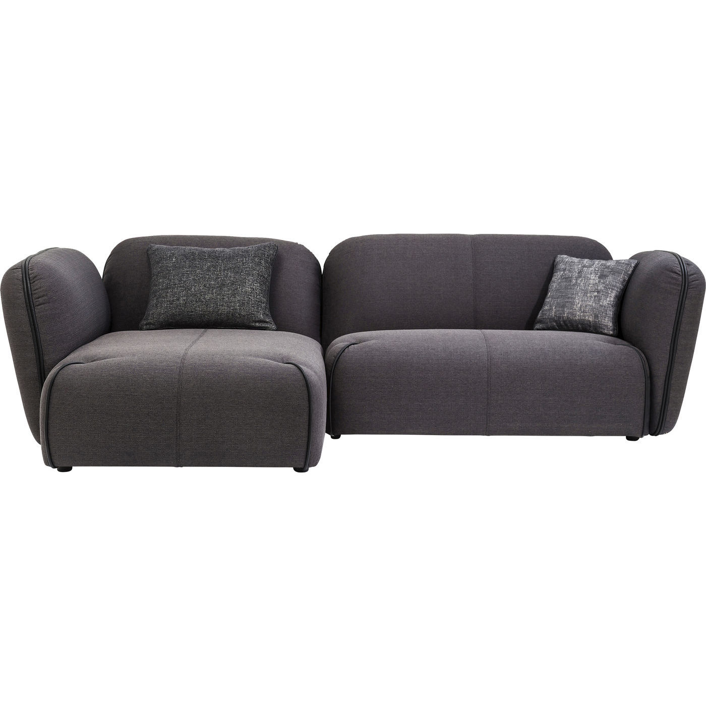 nuvola sofa med fint stof og blde sder komfortabel. Black Bedroom Furniture Sets. Home Design Ideas