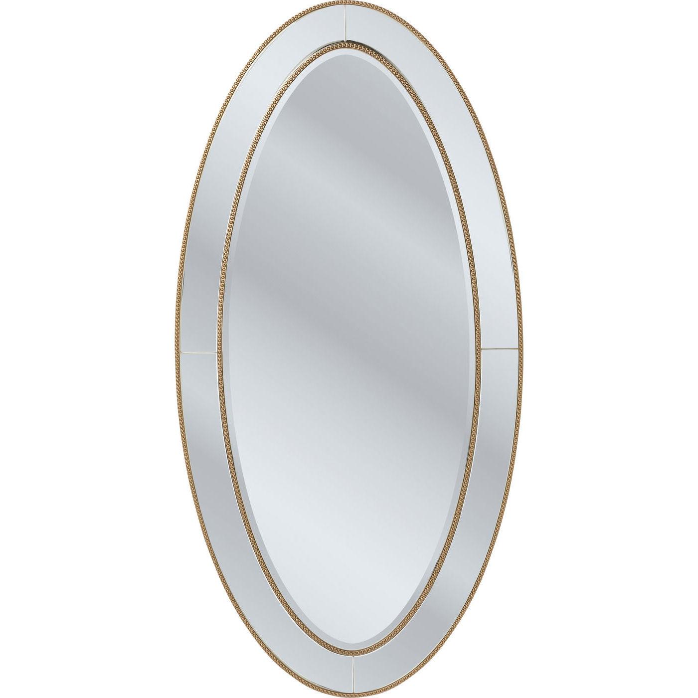 kare design Kare design spejl, elite oval 180x90cm fra boboonline.dk
