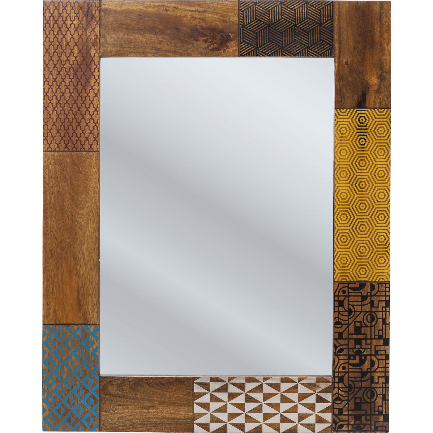 Billede af Kare Design Spejl, Soleil 100x80cm
