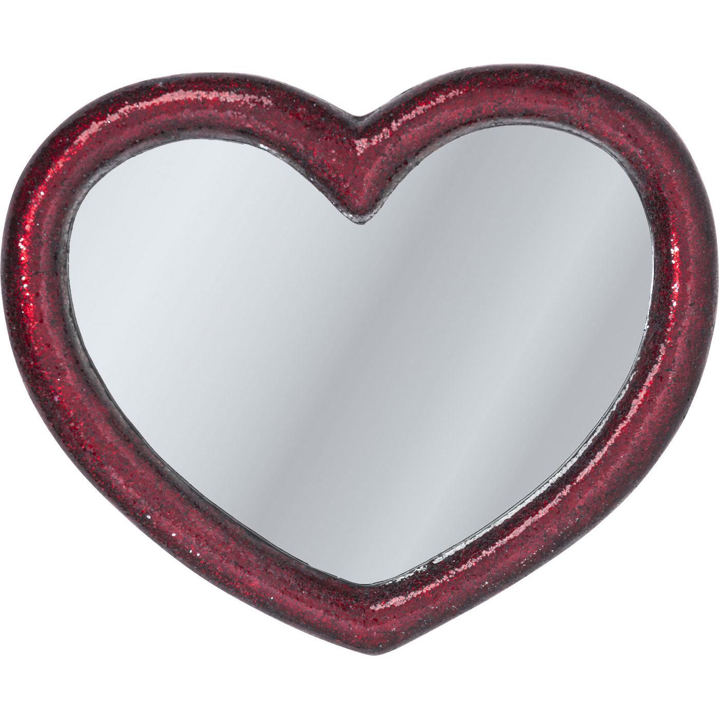 Billede af Kare Design Spejl, Mosaik Heart 100x123cm