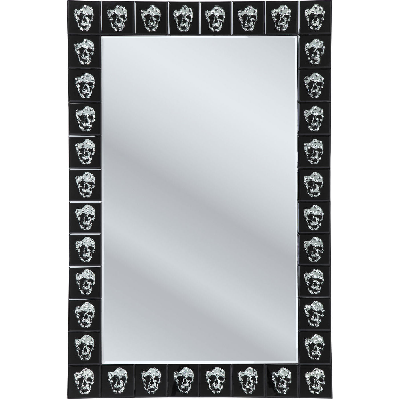 Image of   Kare Design Spejl, Skull Movie 120x80cm