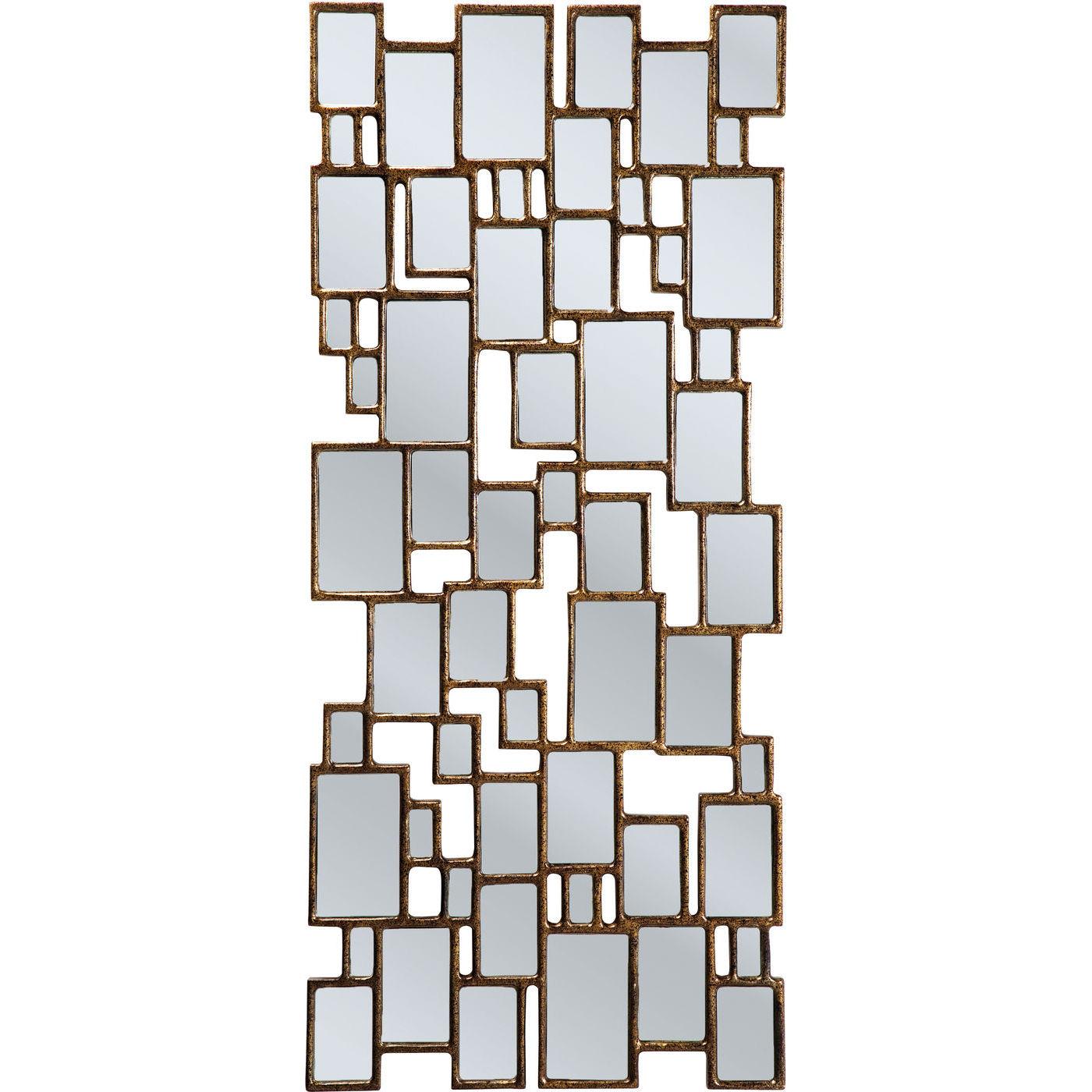Billede af Kare Design Spejl, Cubes Copper 132x54cm